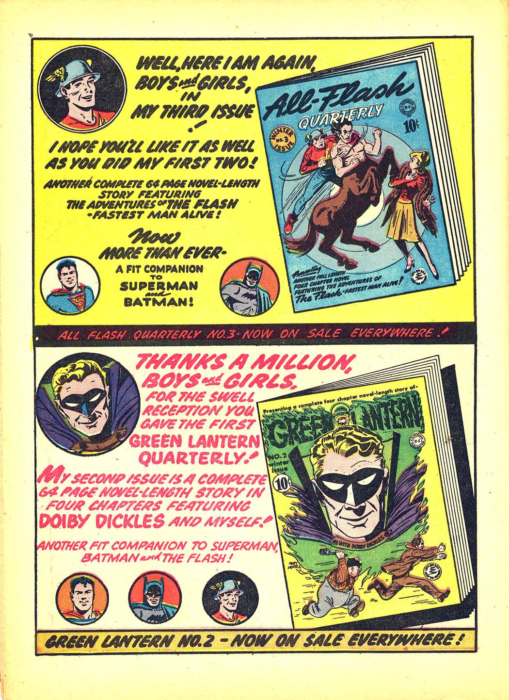 Read online Sensation (Mystery) Comics comic -  Issue #4 - 16