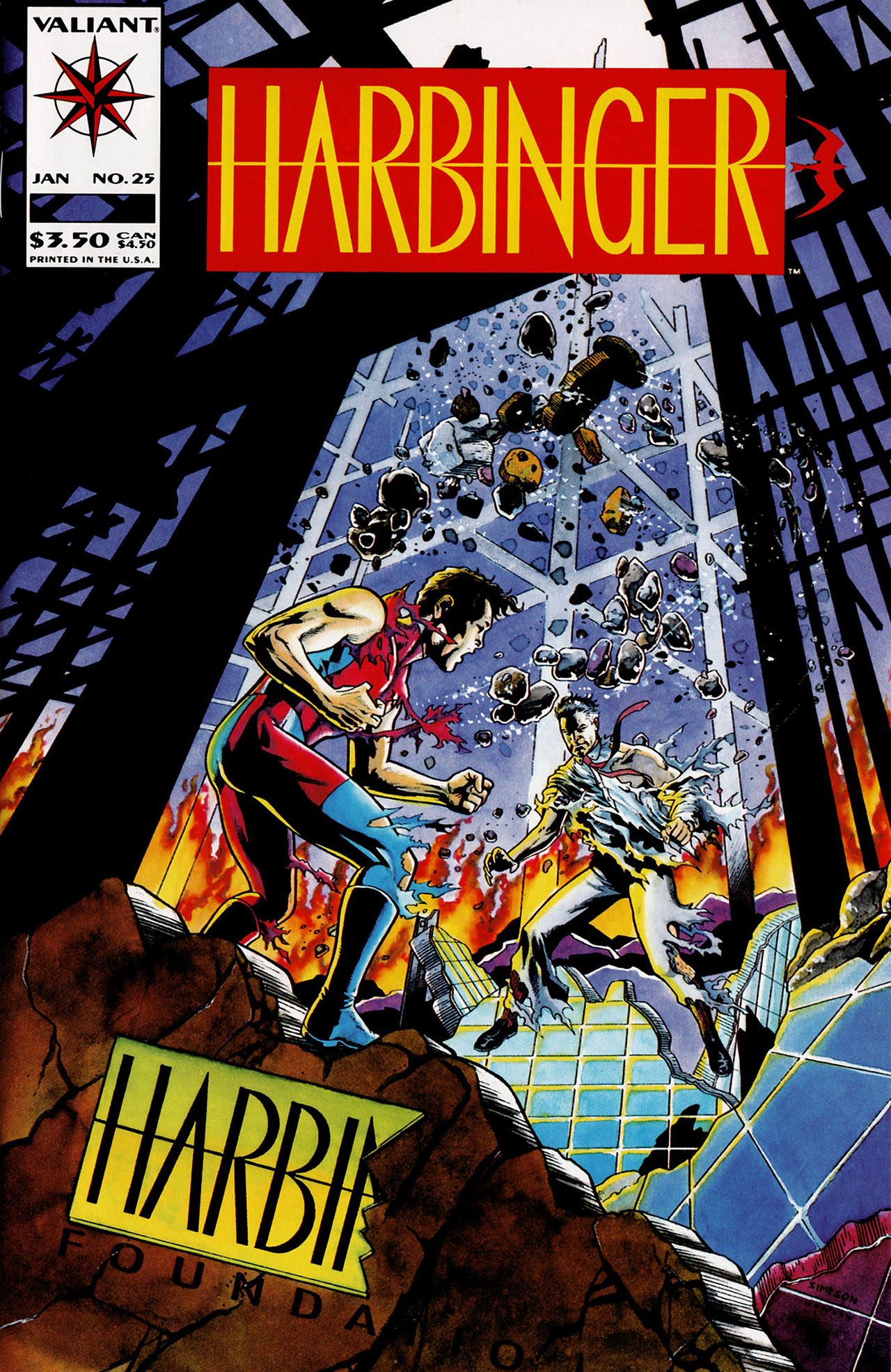 Read online Harbinger (1992) comic -  Issue #25 - 1