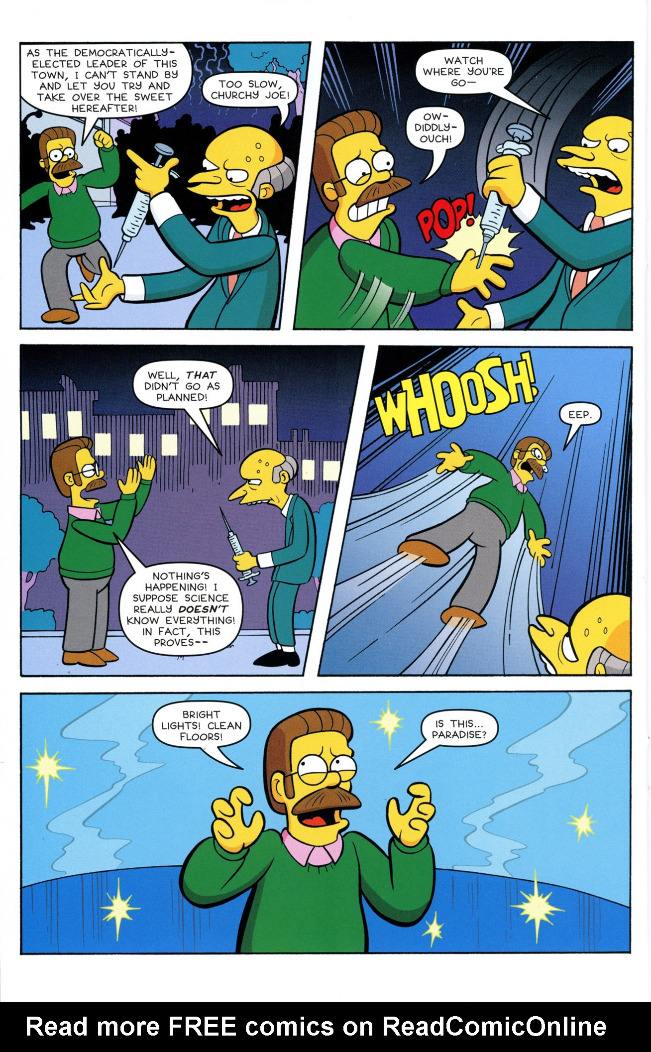 Read online Treehouse of Horror comic -  Issue #21 - 28