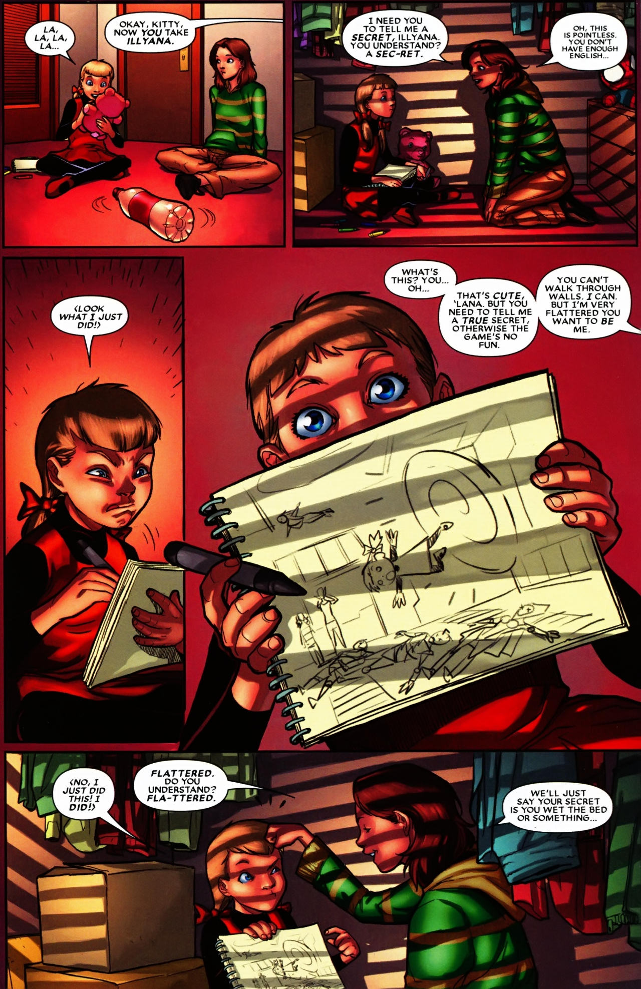 Read online Wolverine: First Class comic -  Issue #6 - 14