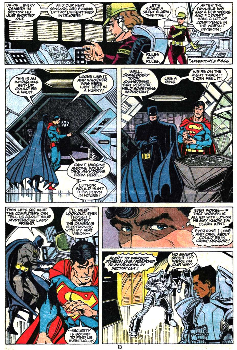 Read online Adventures of Superman (1987) comic -  Issue #467 - 15