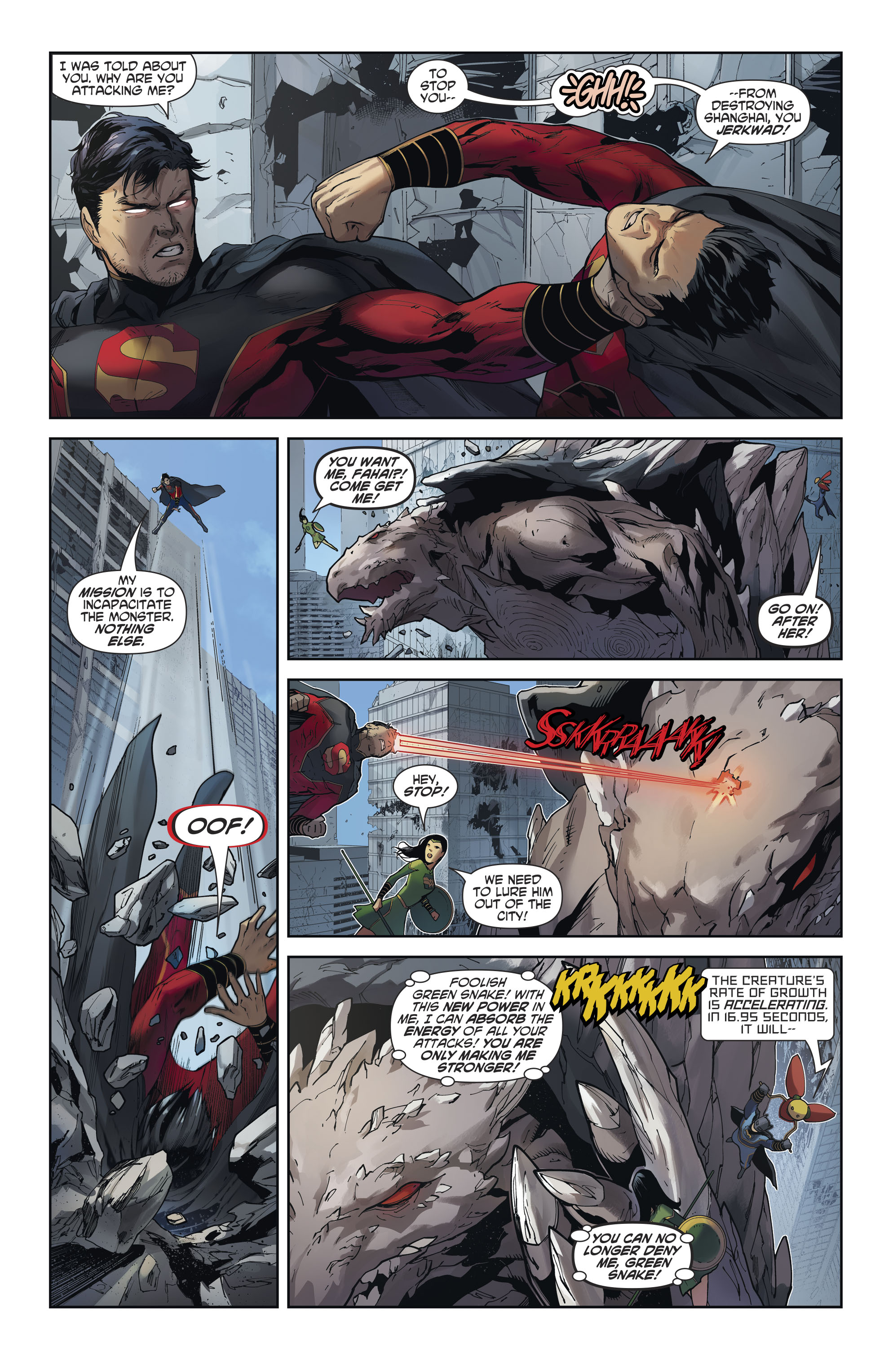 Read online New Super-Man comic -  Issue #12 - 7