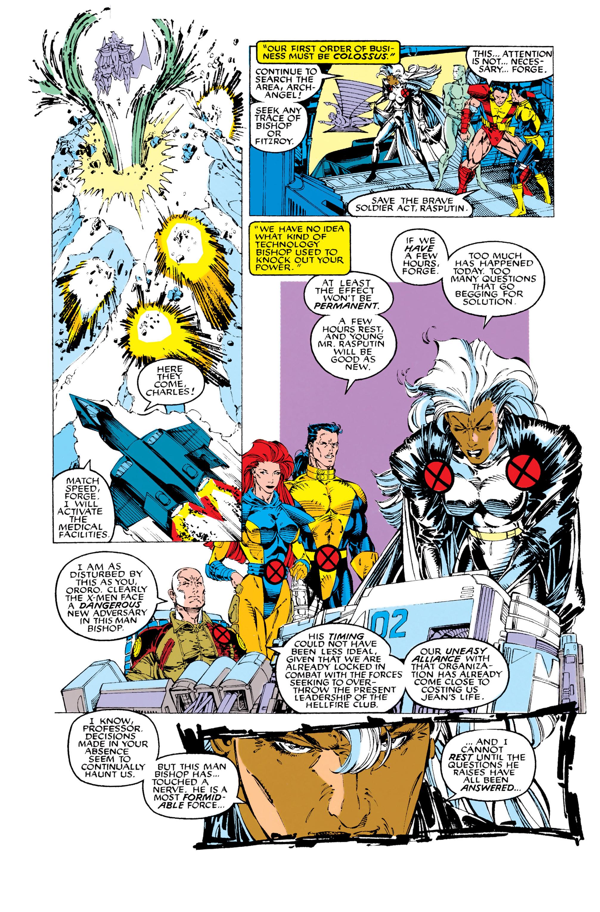 Read online Uncanny X-Men (1963) comic -  Issue #283 - 21