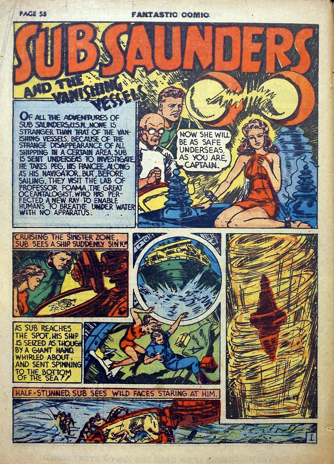 Read online Fantastic Comics comic -  Issue #5 - 59