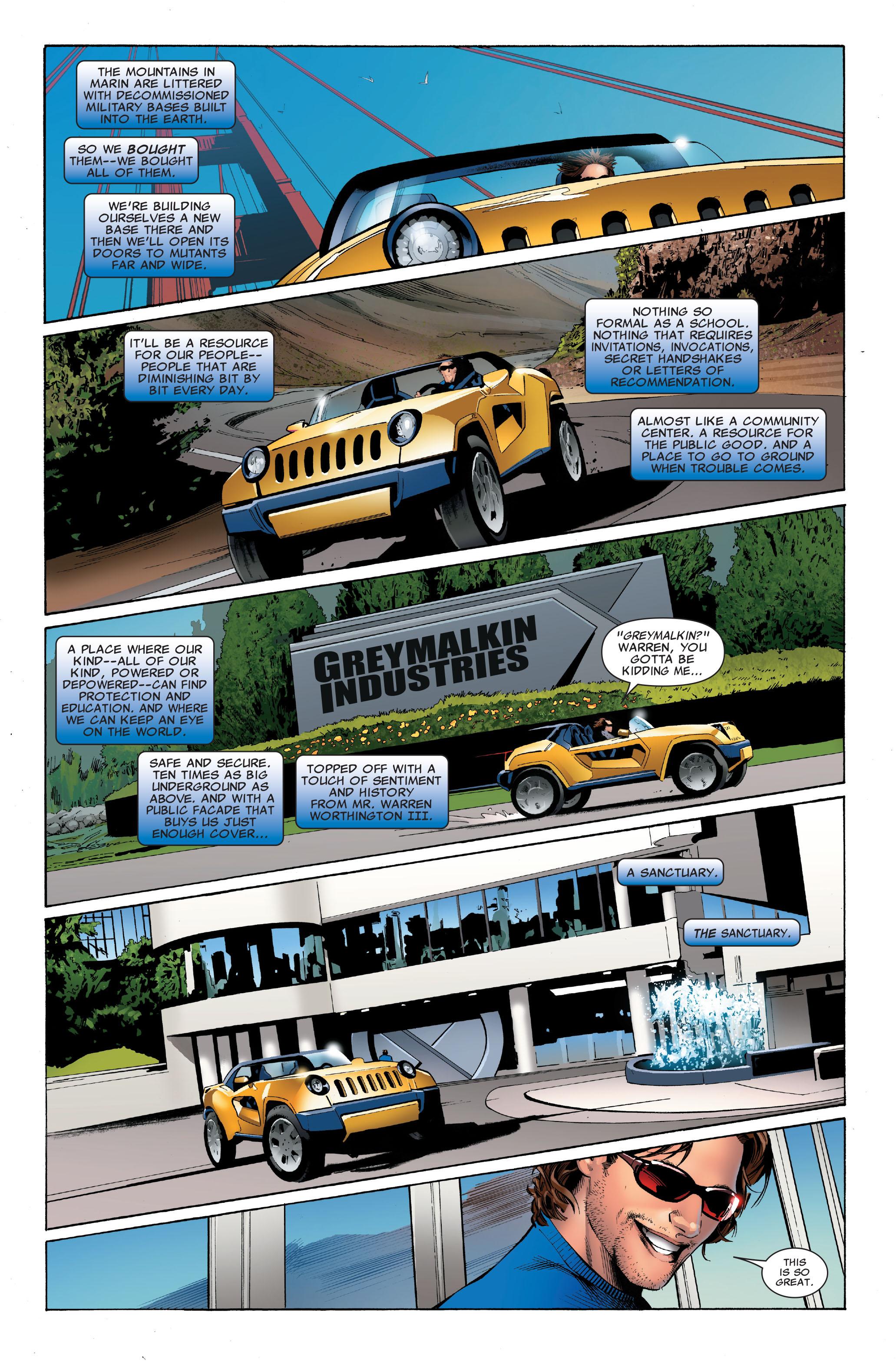 Read online Uncanny X-Men (1963) comic -  Issue #501 - 12