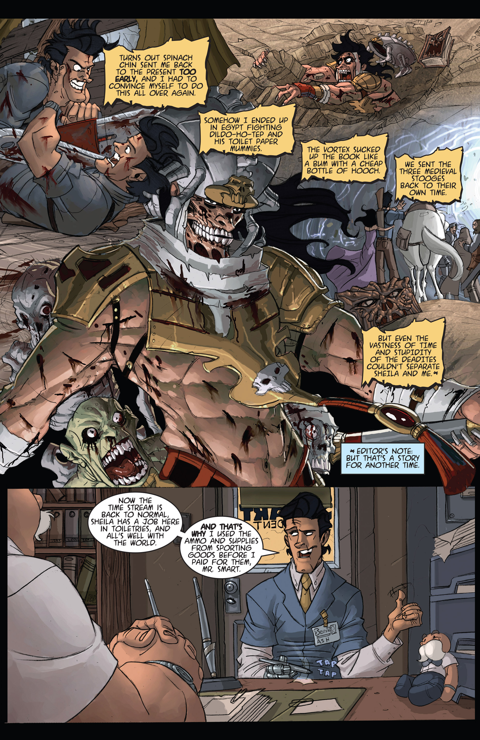 Read online Army of Darkness: Shop Till You Drop Dead comic -  Issue #Army of Darkness: Shop Till You Drop Dead TPB - 13