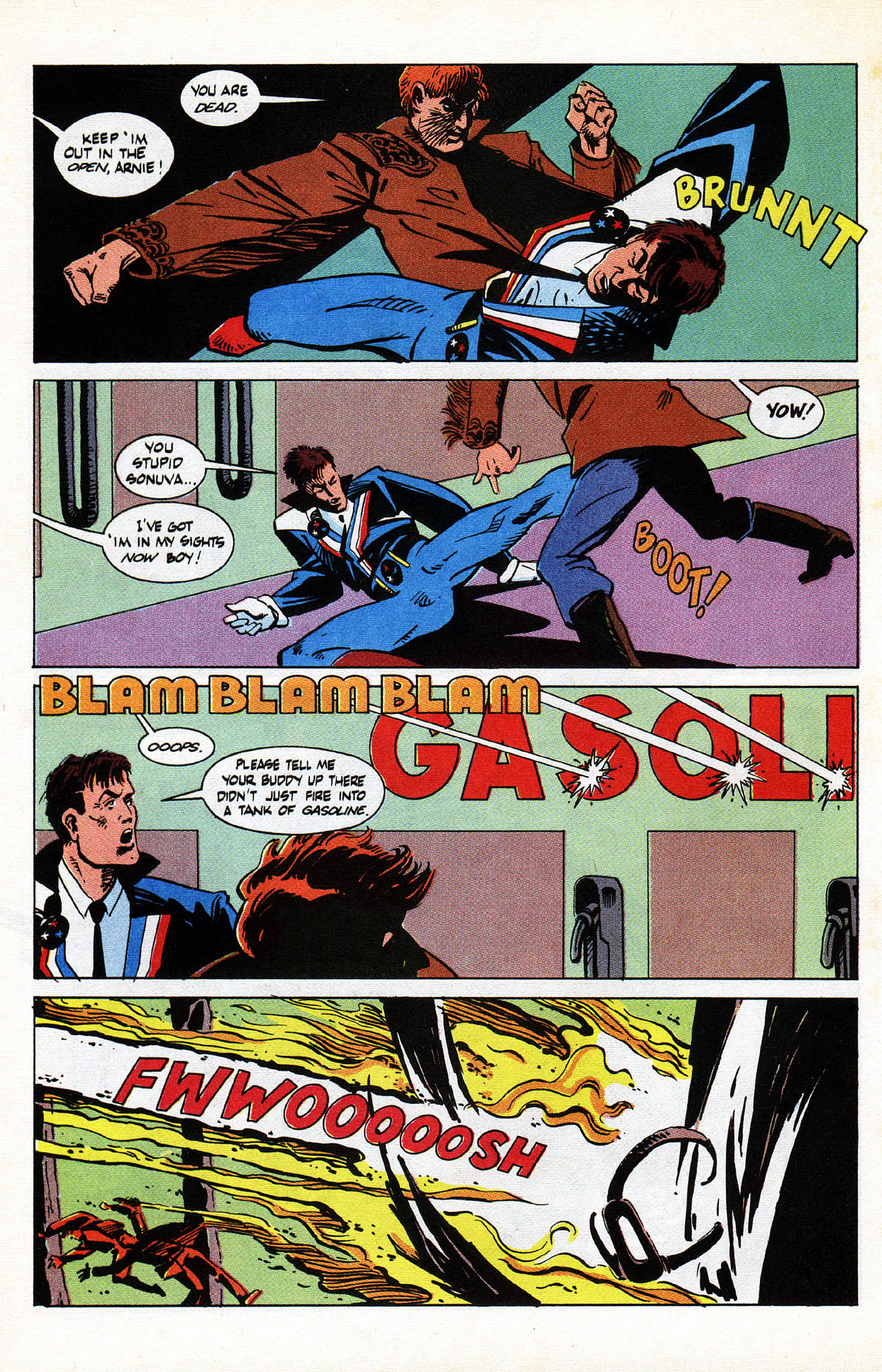 Read online American Flagg! comic -  Issue #38 - 20