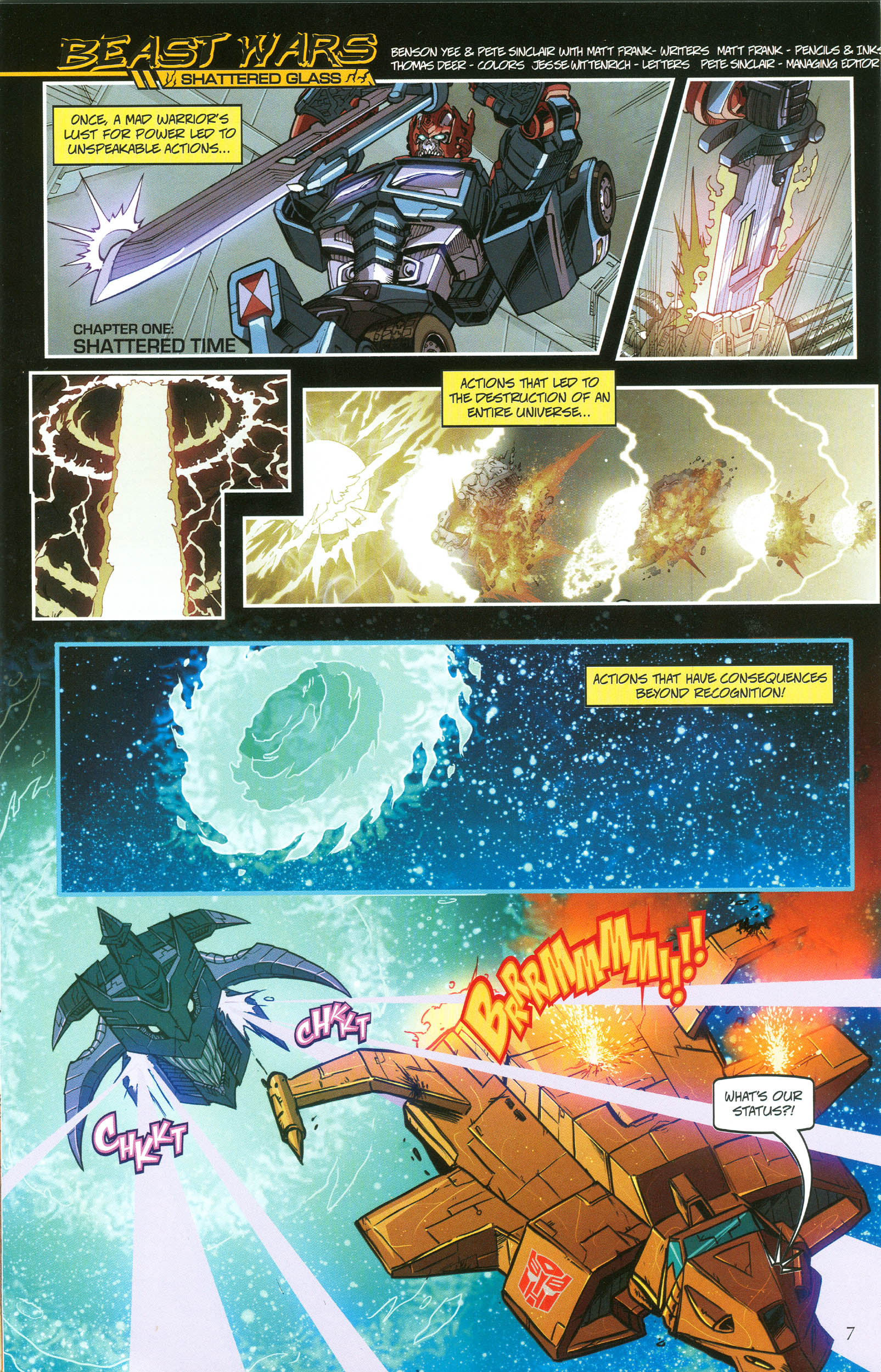 Read online Transformers: Collectors' Club comic -  Issue #49 - 7