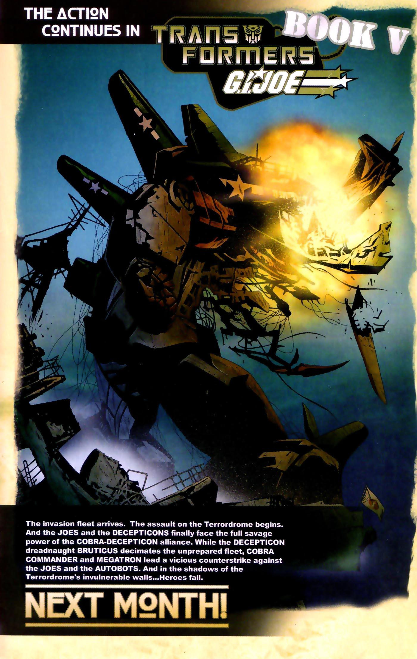 Read online Transformers/G.I. Joe comic -  Issue #4 - 23