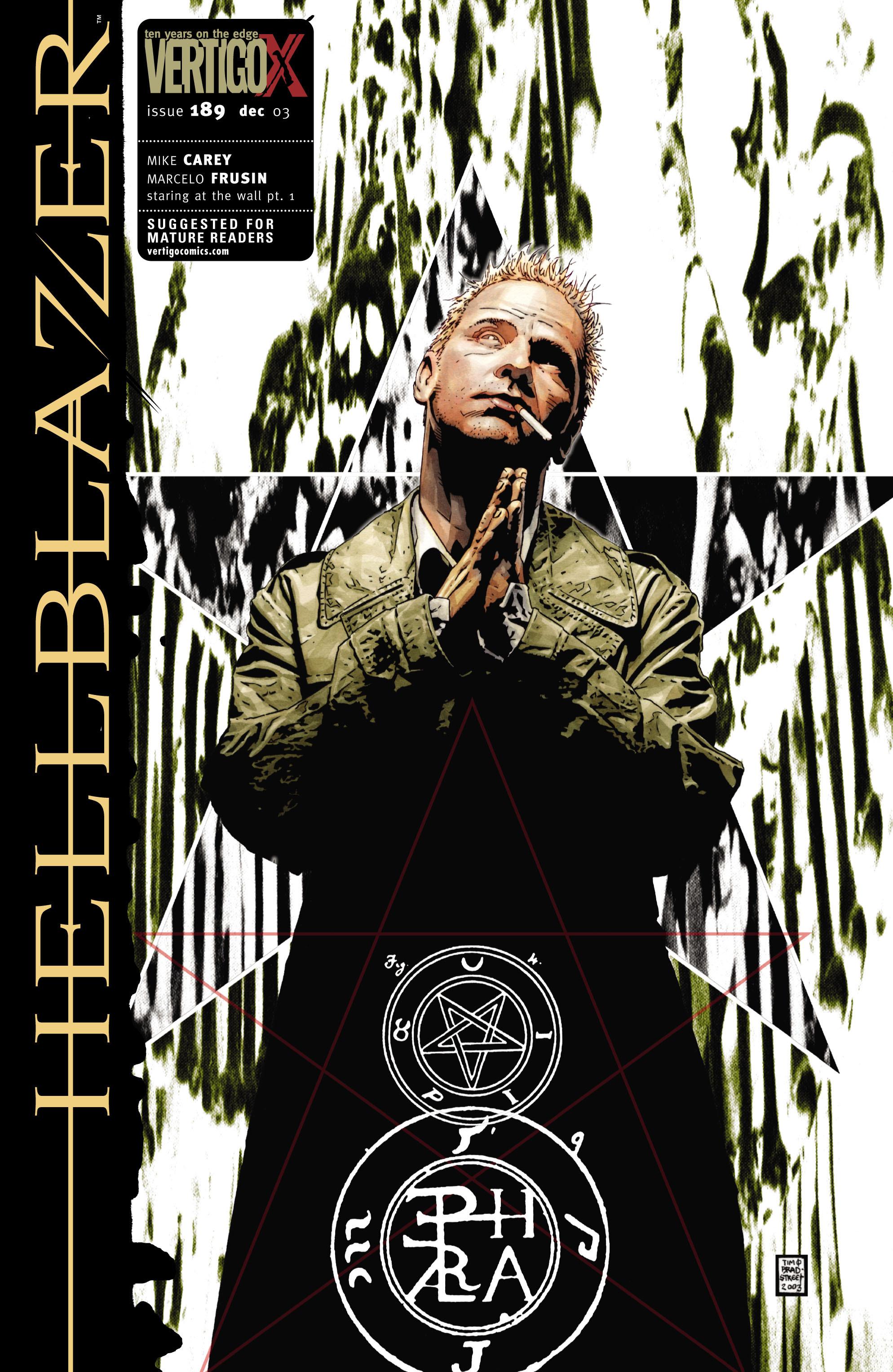 Hellblazer issue 189 - Page 1