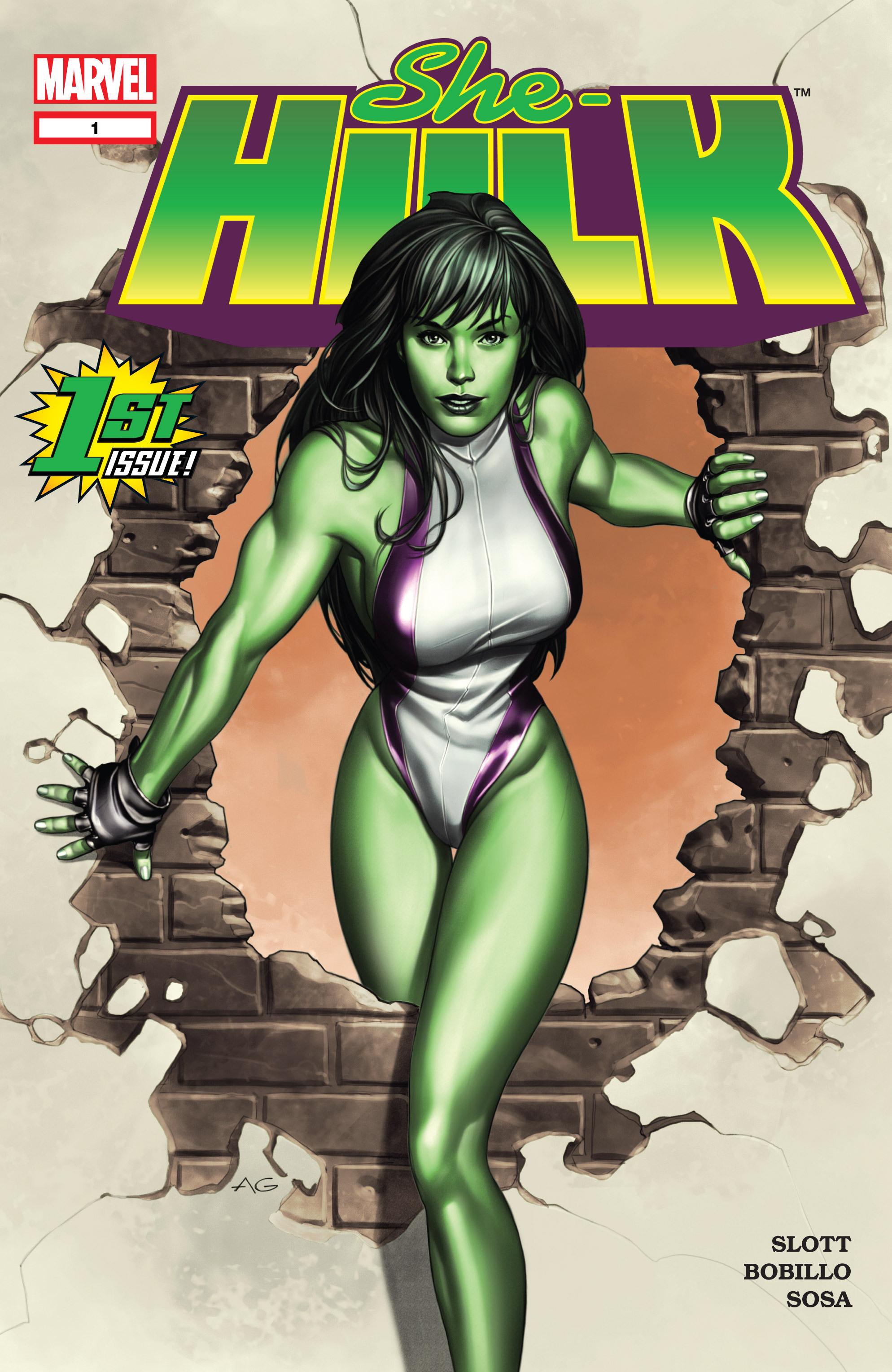 Read online She-Hulk (2004) comic -  Issue #1 - 1