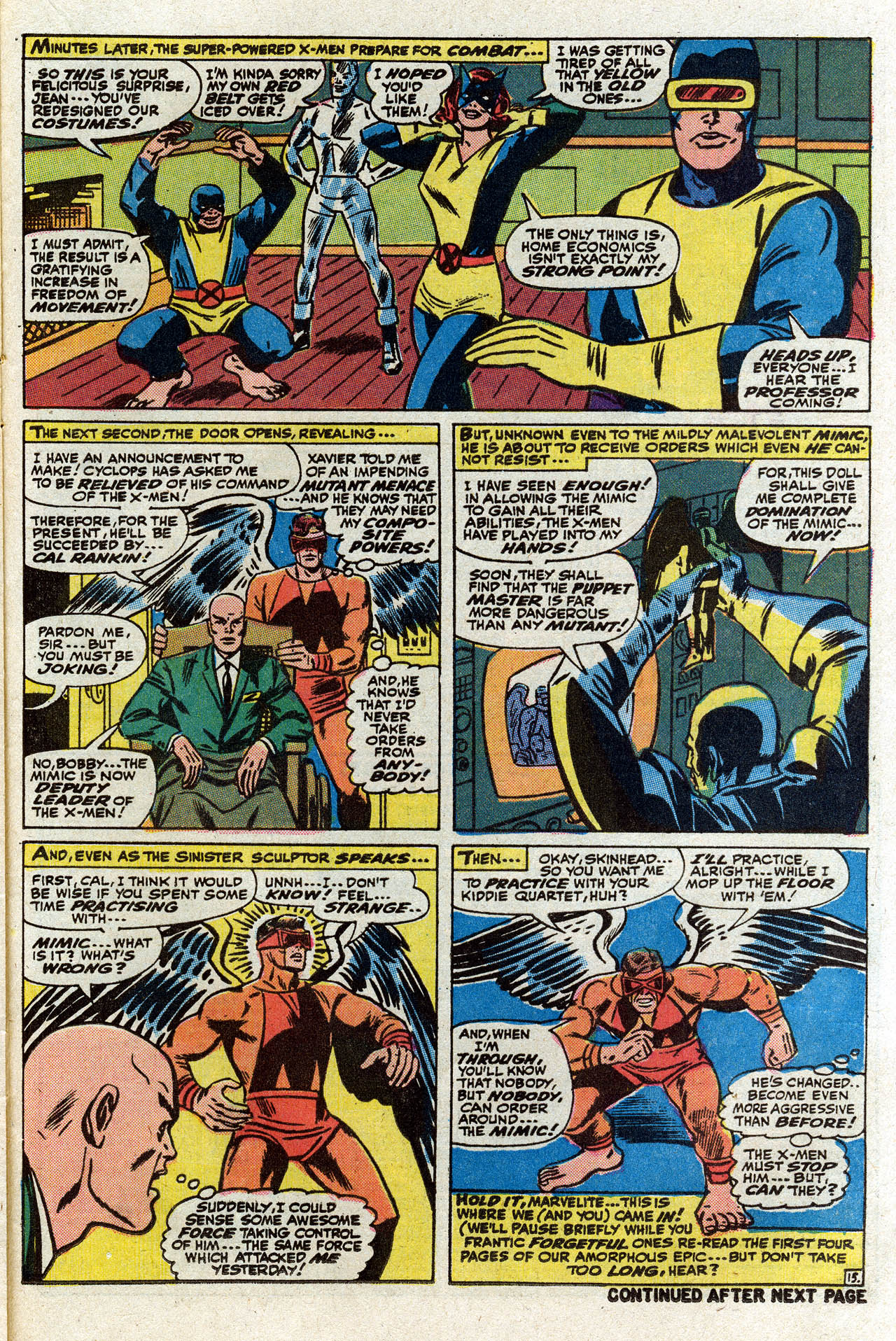 Read online Uncanny X-Men (1963) comic -  Issue #75 - 20