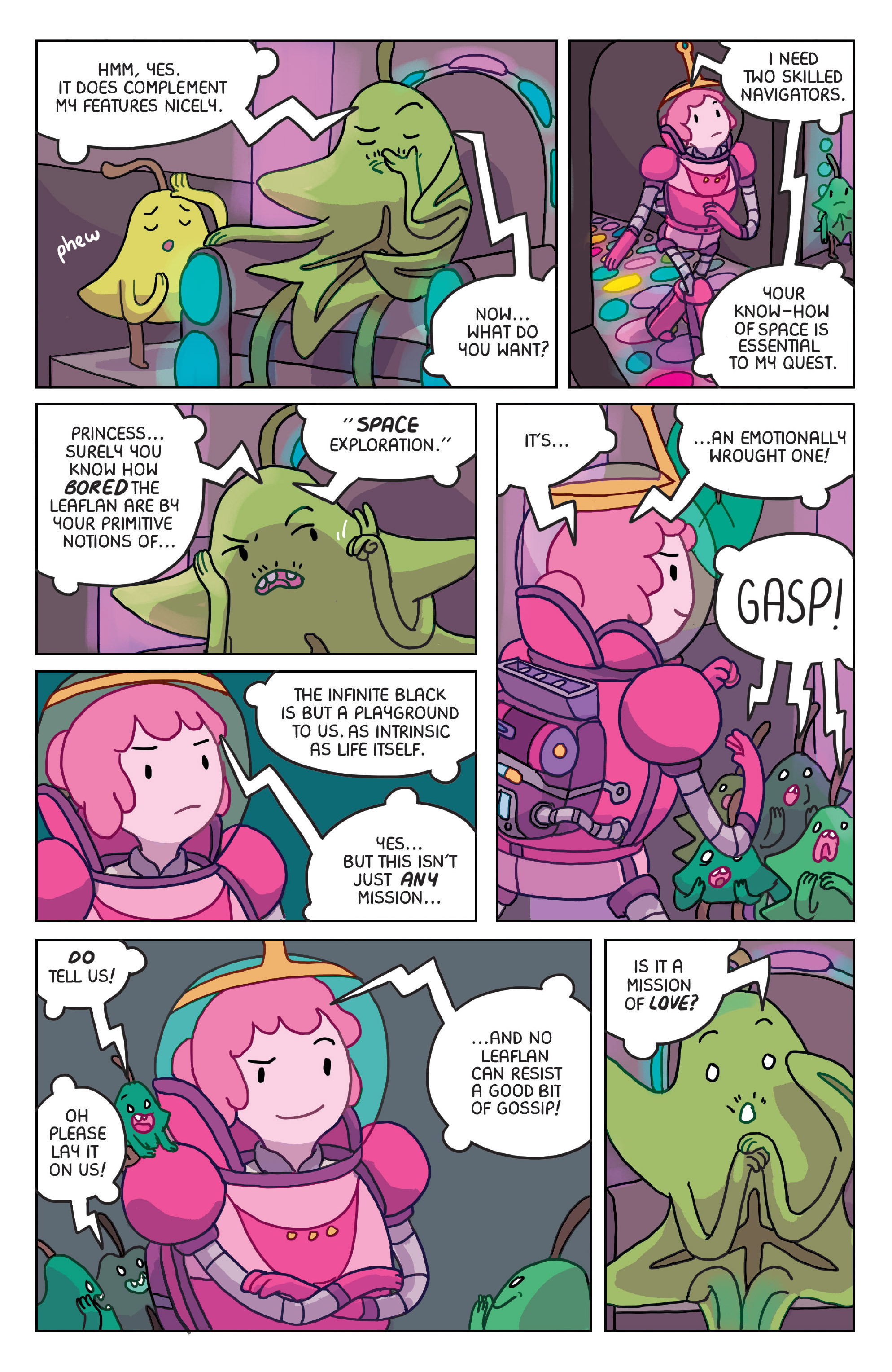 Read online Adventure Time: Marceline Gone Adrift comic -  Issue #4 - 19