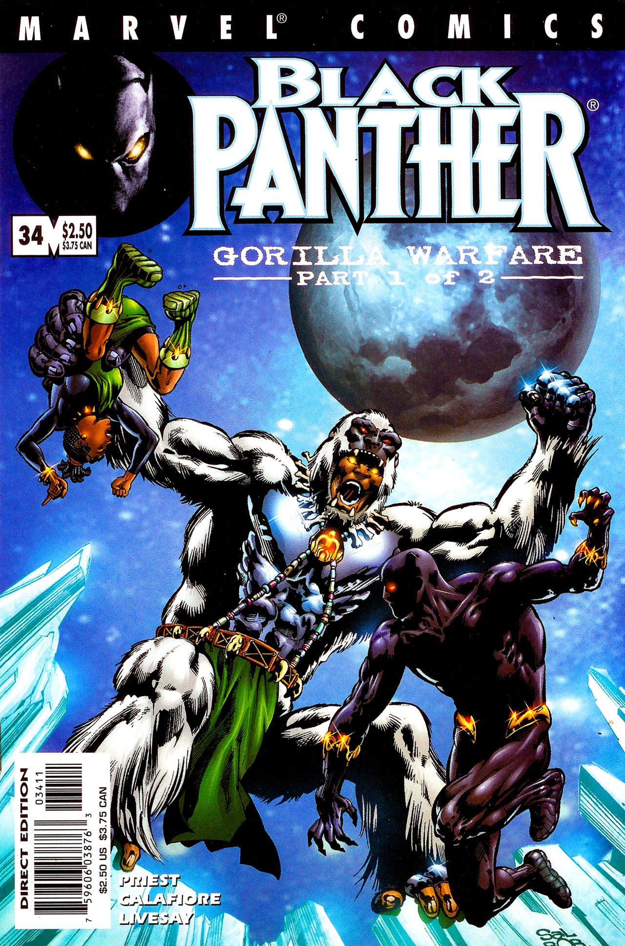 Black Panther (1998) 34 Page 1