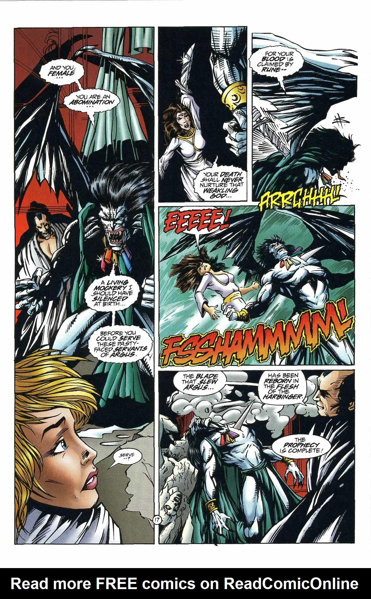 Read online Rune (1994) comic -  Issue #9 - 17