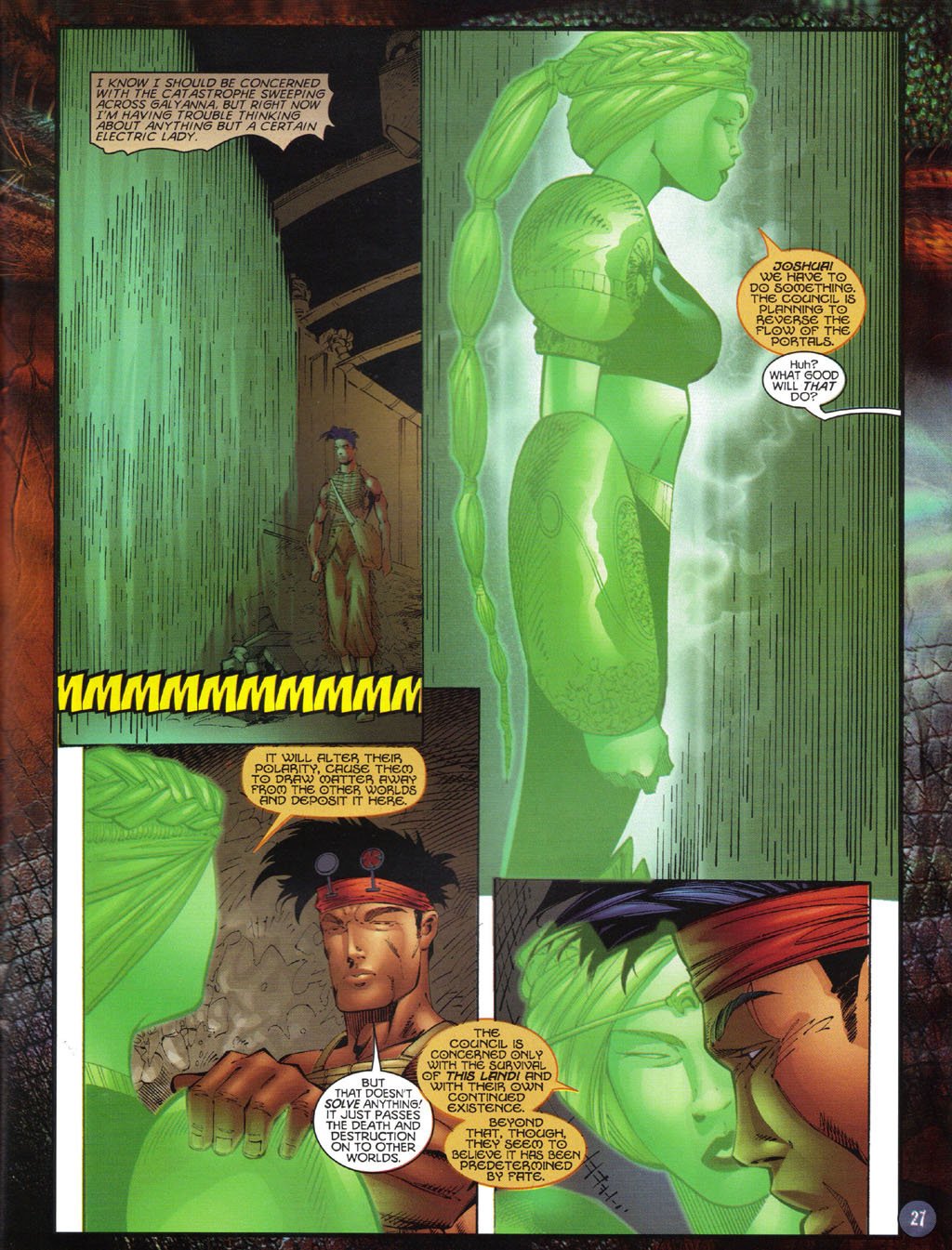 Read online Turok 2: Adon's Curse comic -  Issue # Full - 28