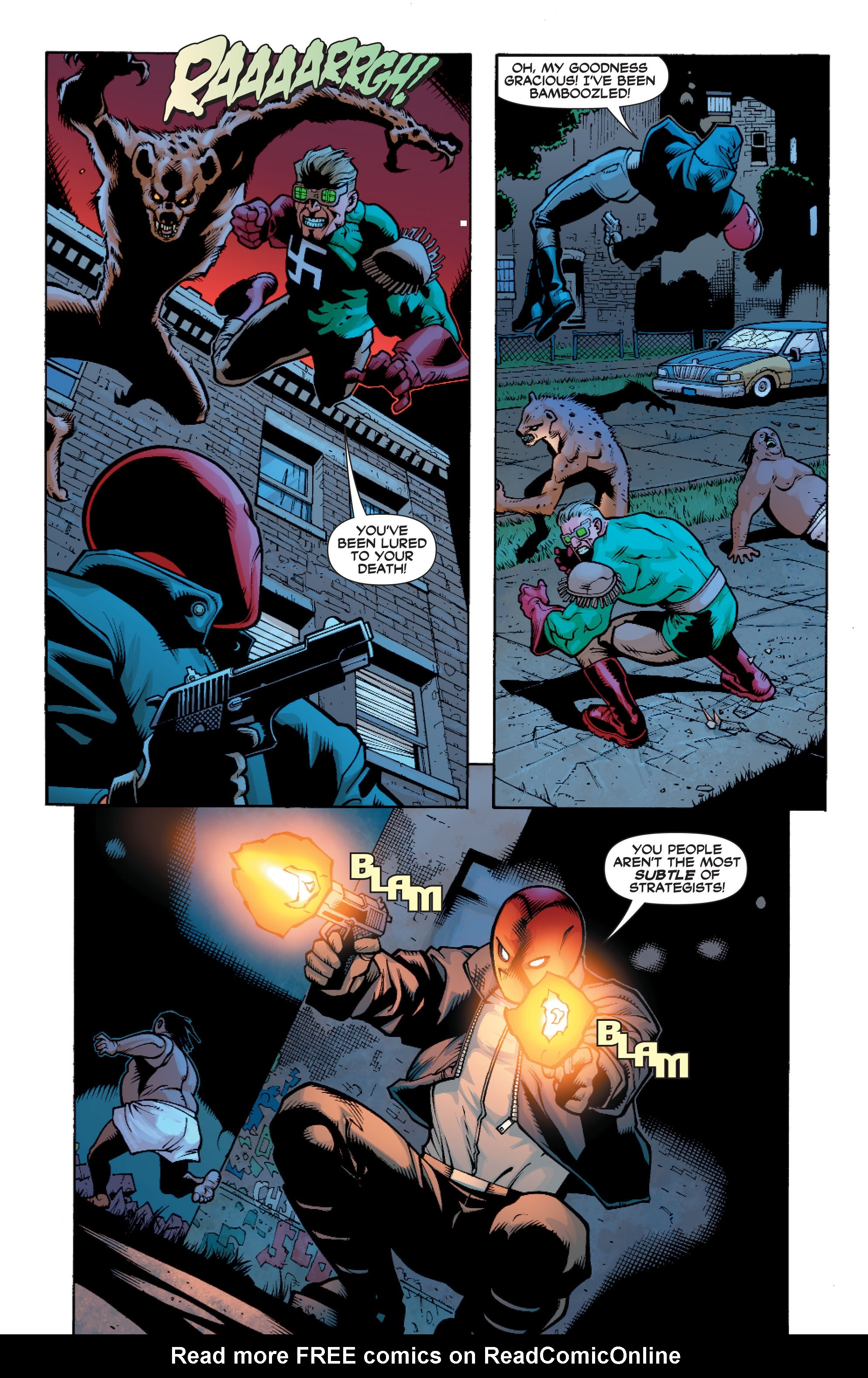 Read online Batman: Under The Red Hood comic -  Issue # Full - 231