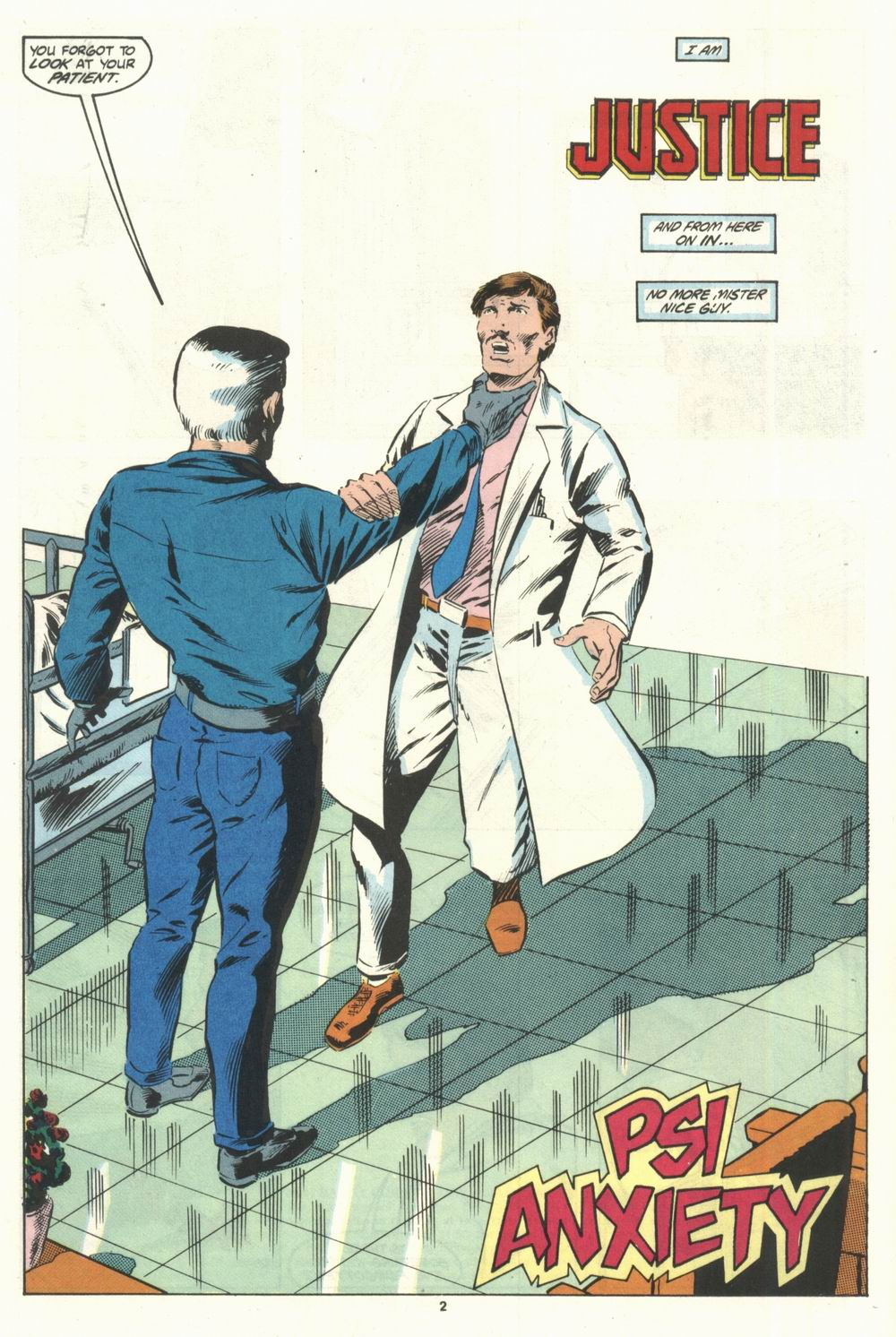 Read online Justice (1986) comic -  Issue #28 - 4