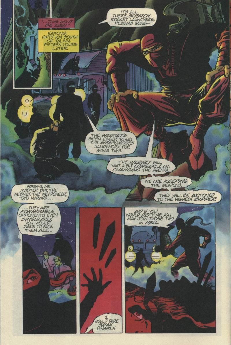 Read online Secret Weapons comic -  Issue #5 - 9