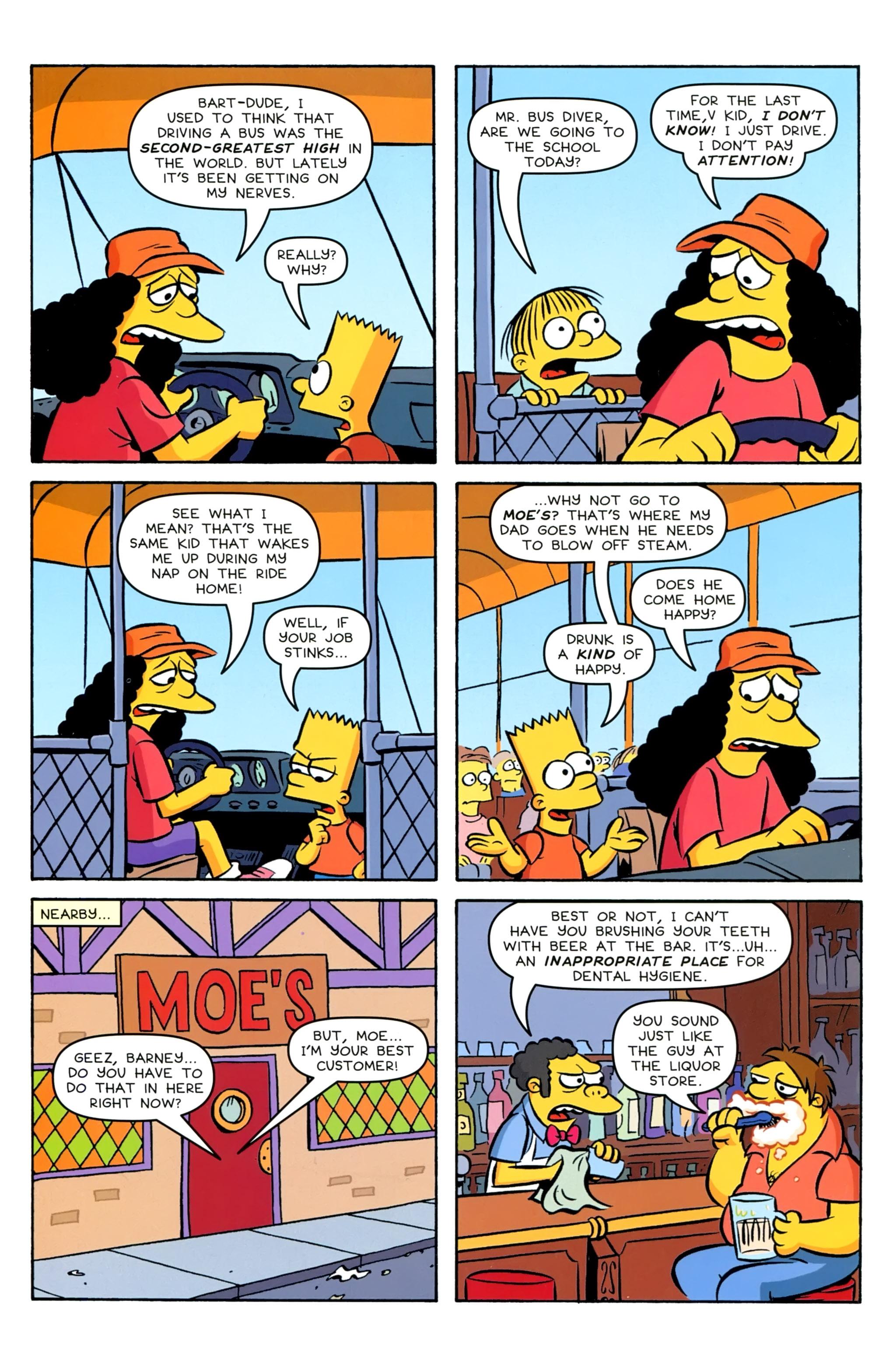Read online Simpsons Comics comic -  Issue #229 - 18