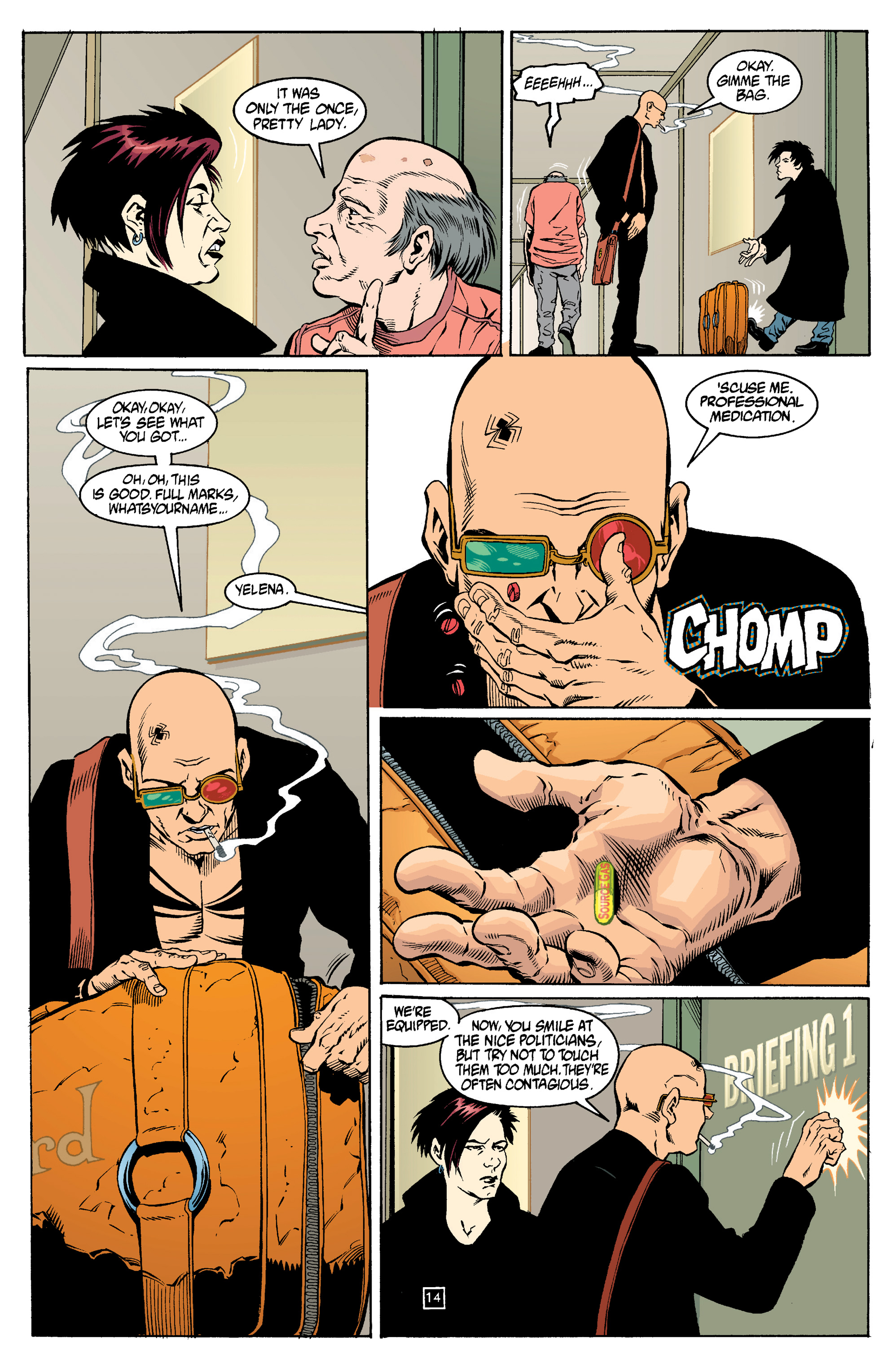 Read online Transmetropolitan comic -  Issue #14 - 15