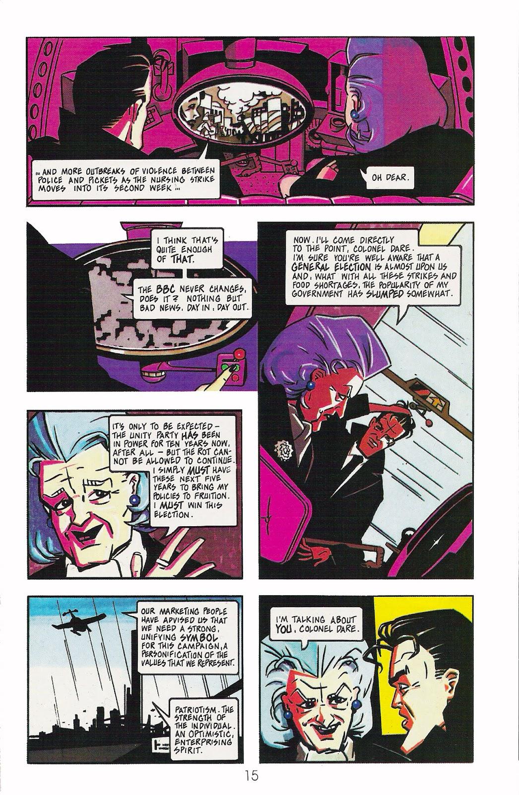Read online Dare comic -  Issue #1 - 17