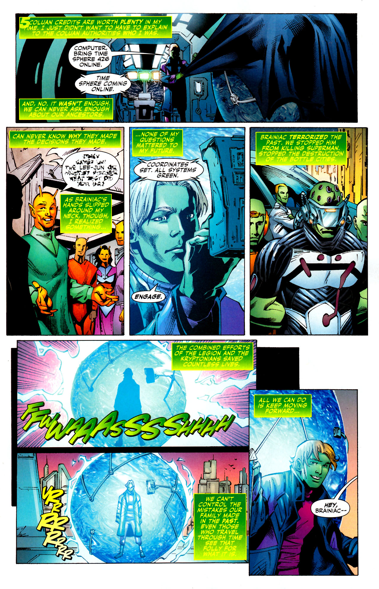 Read online Adventure Comics (2009) comic -  Issue #11 - 9
