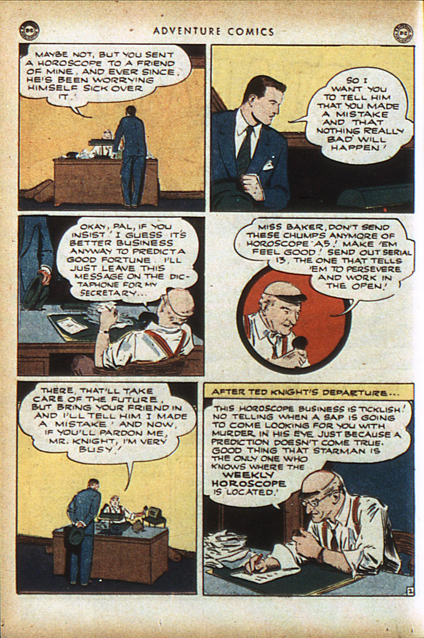Read online Adventure Comics (1938) comic -  Issue #96 - 35