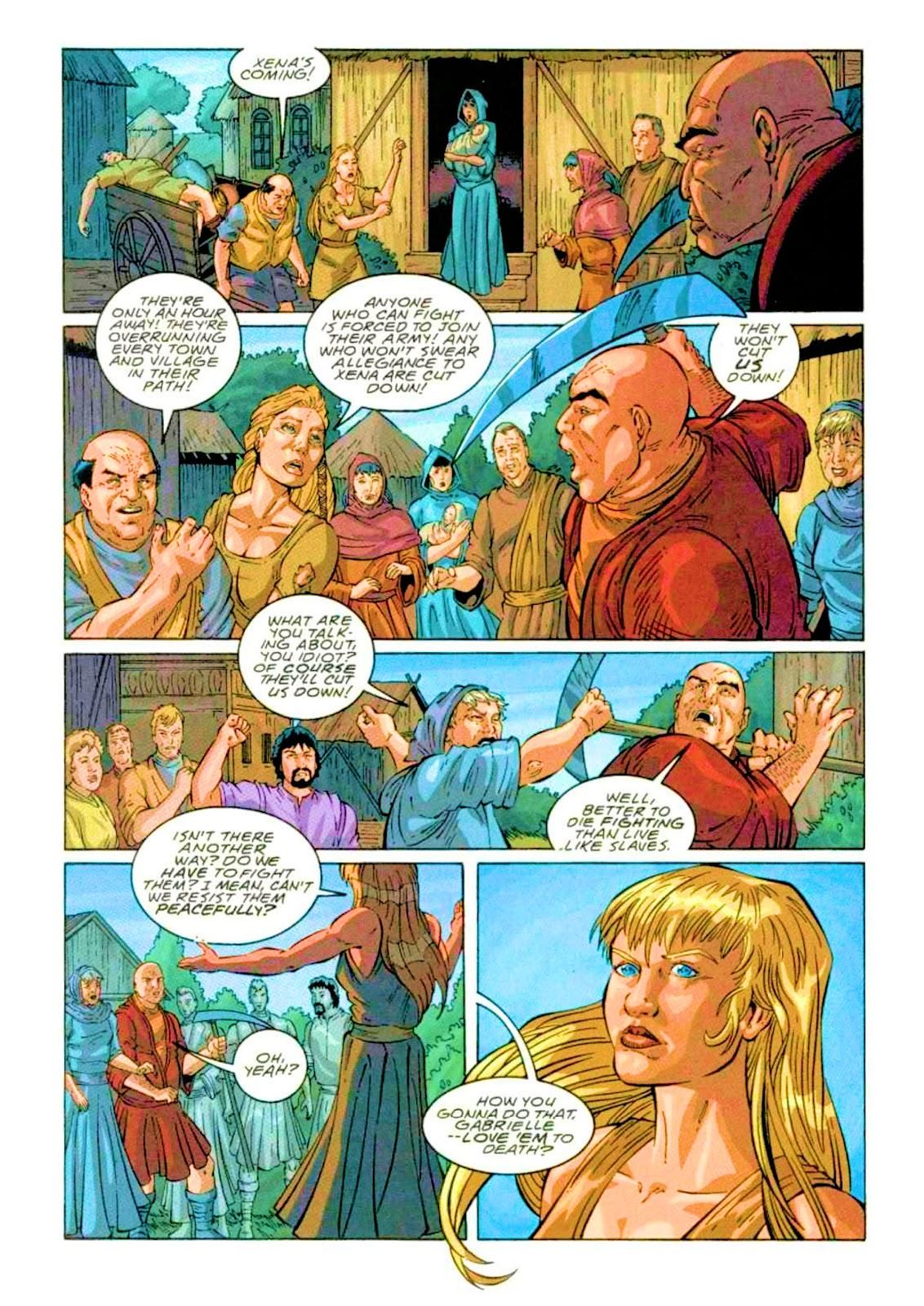 Xena: Warrior Princess (1999) Issue #2 #2 - English 16