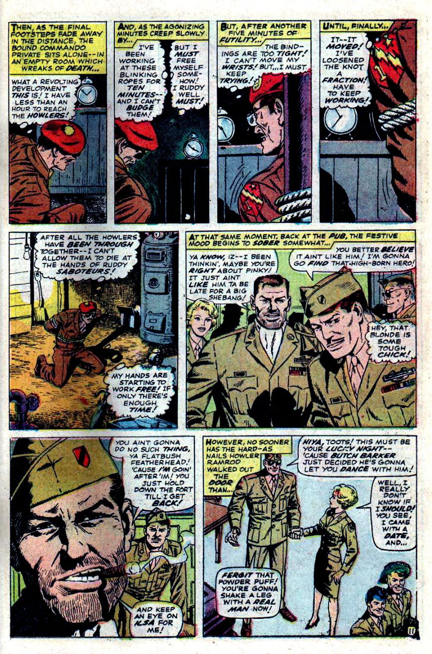 Read online Sgt. Fury comic -  Issue #47 - 15