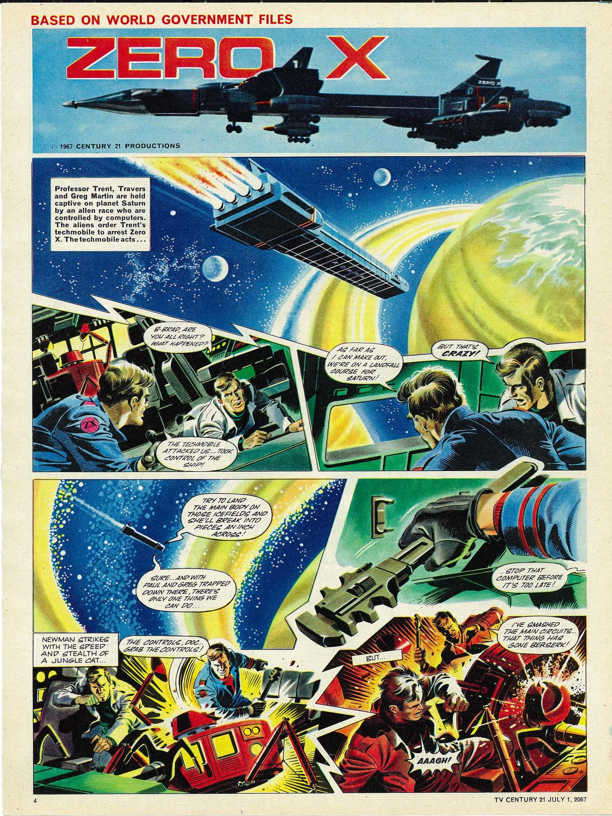 Read online TV Century 21 (TV 21) comic -  Issue #128 - 4