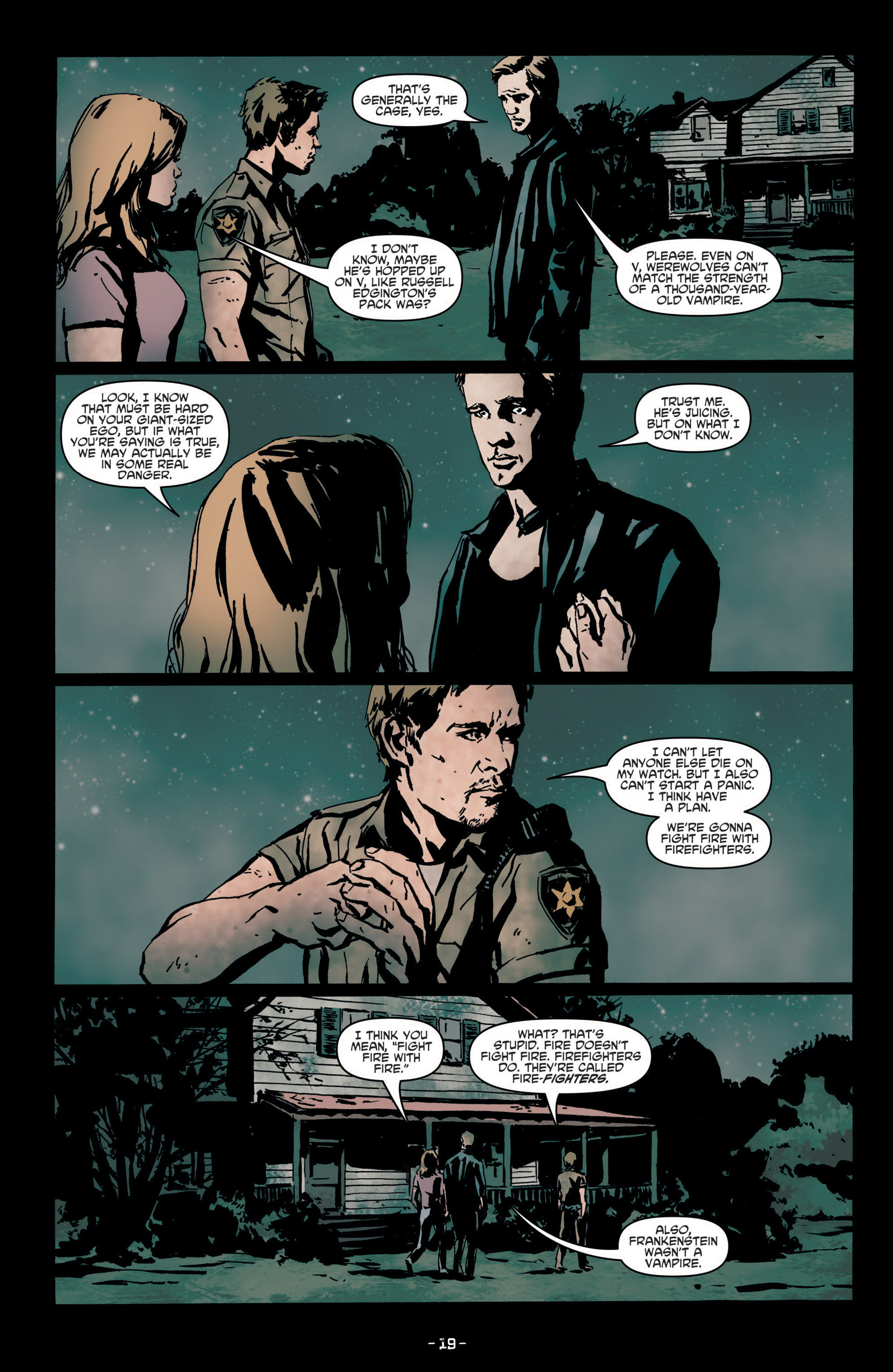 Read online True Blood (2012) comic -  Issue #7 - 21