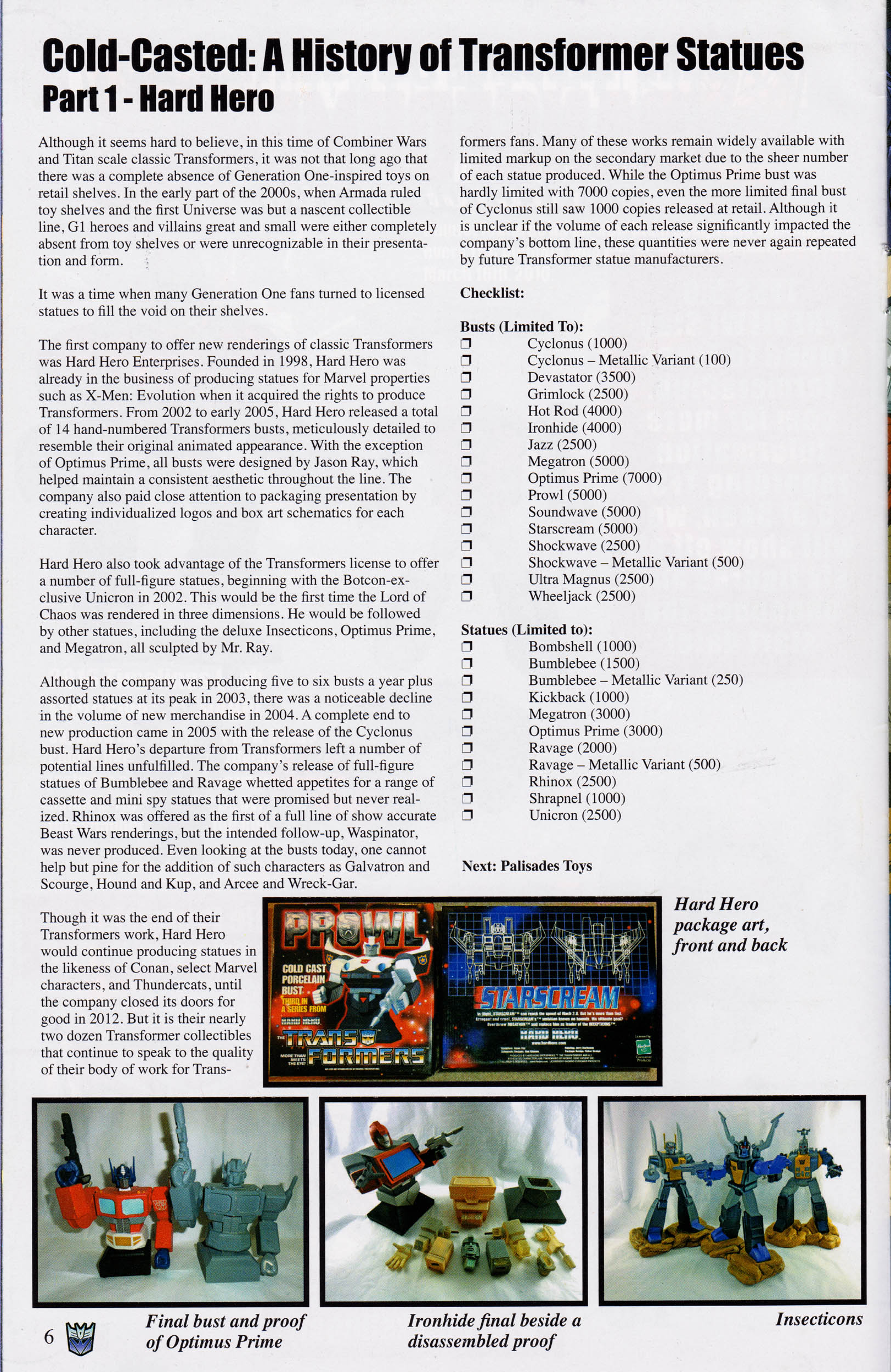 Read online Transformers: Collectors' Club comic -  Issue #67 - 6