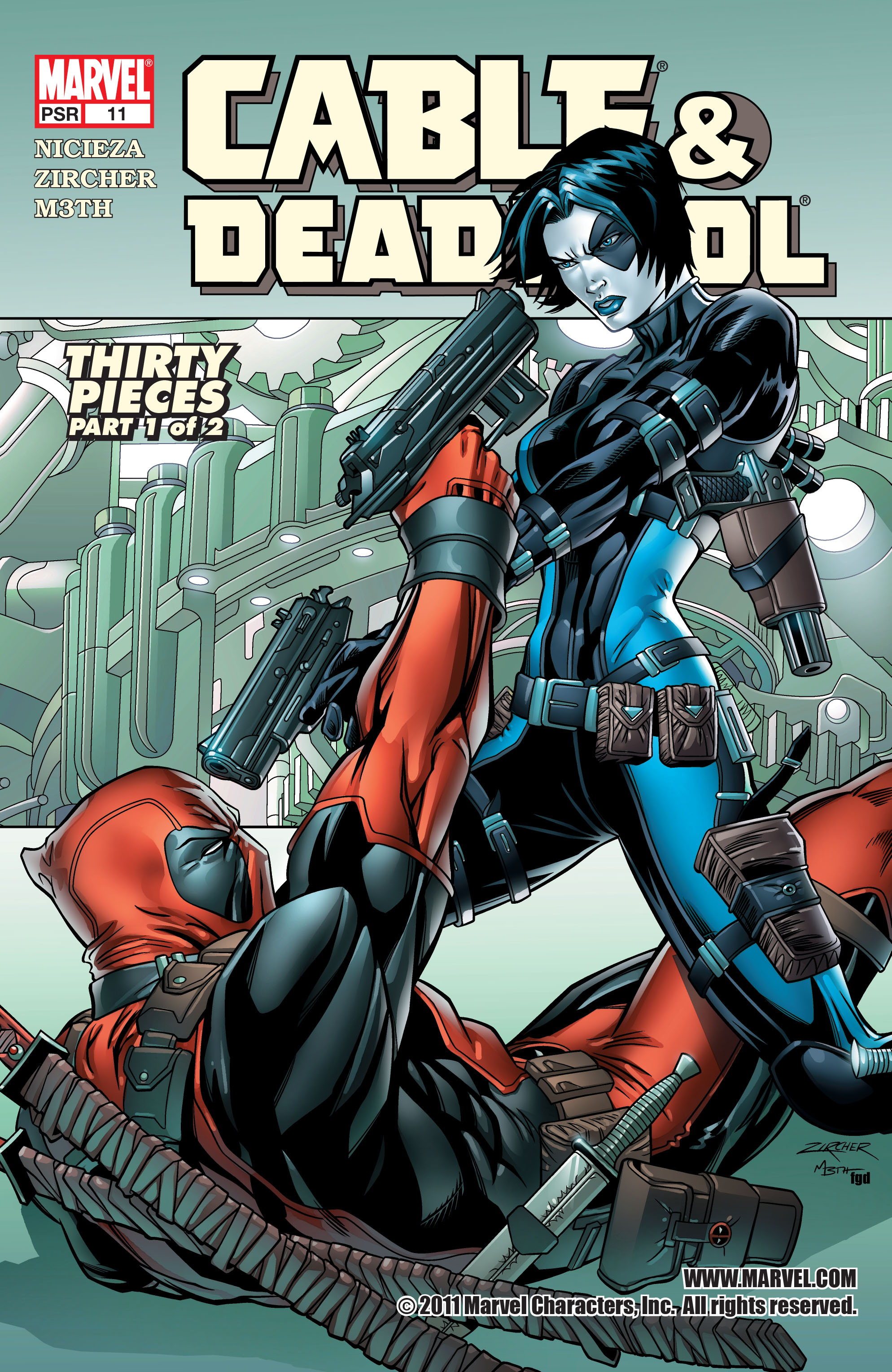 Cable and Deadpool 11 Page 1