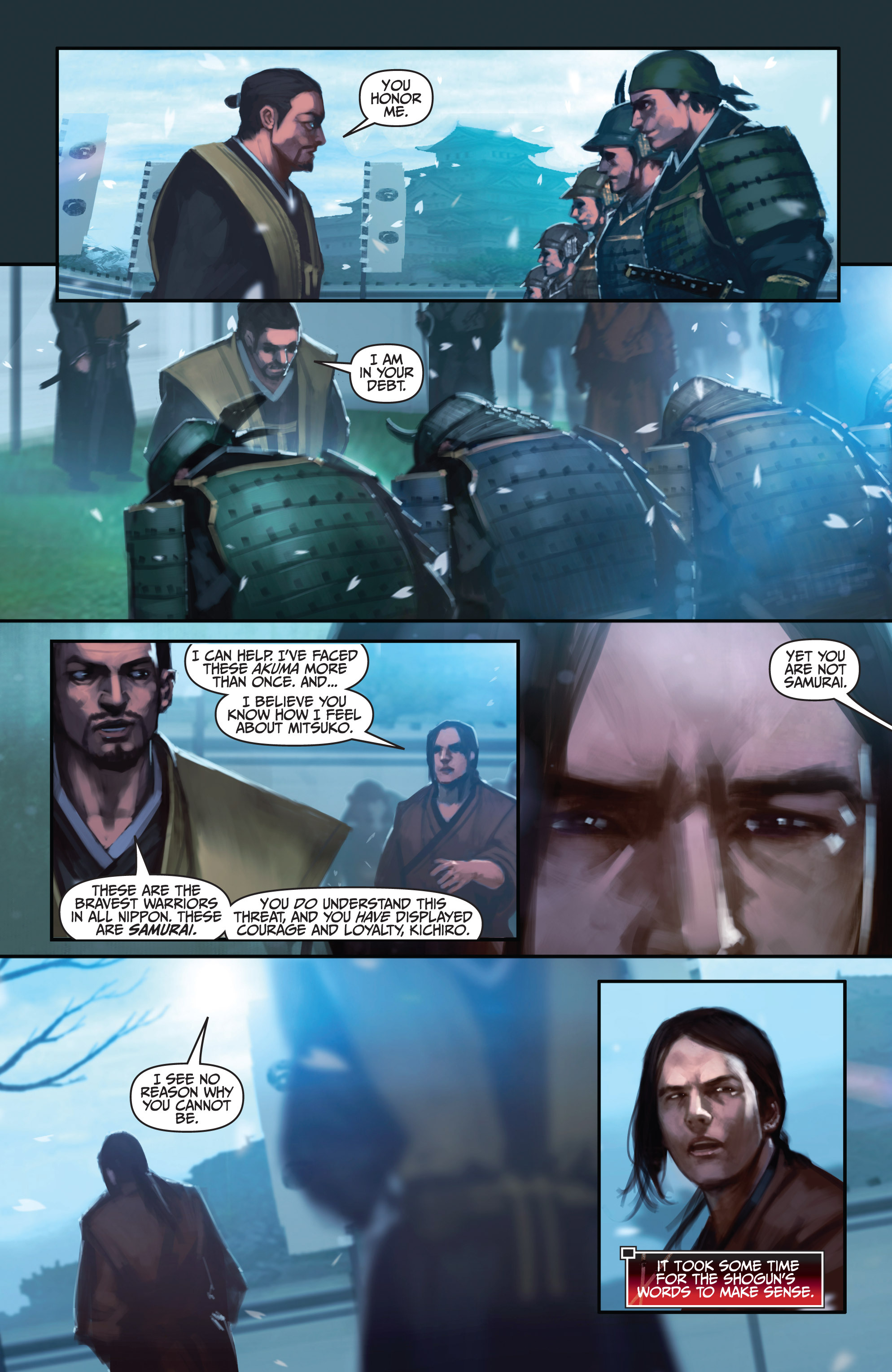 Read online Bushido: The Way of the Warrior comic -  Issue #4 - 11
