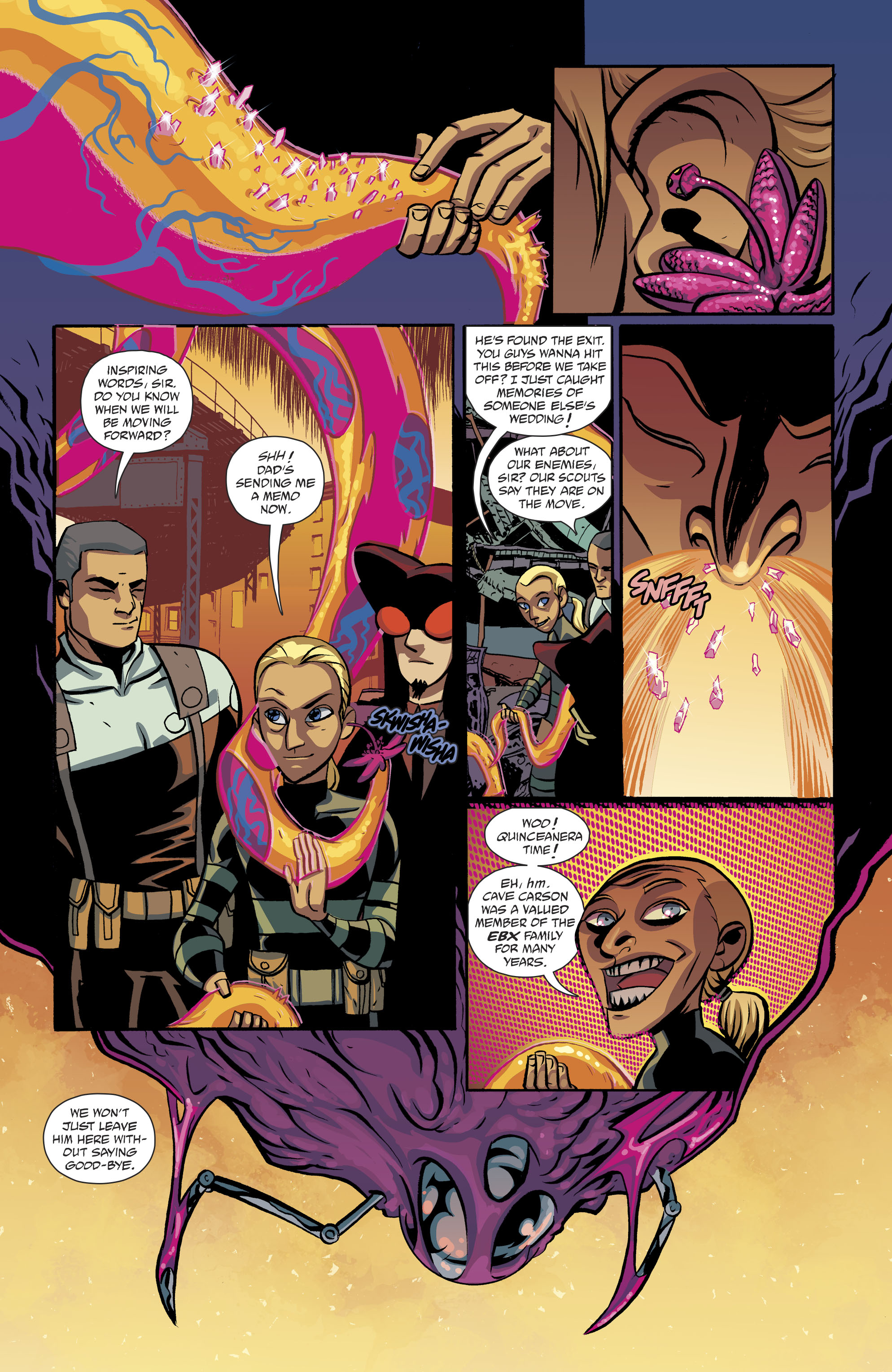 Read online Cave Carson Has a Cybernetic Eye comic -  Issue #8 - 10