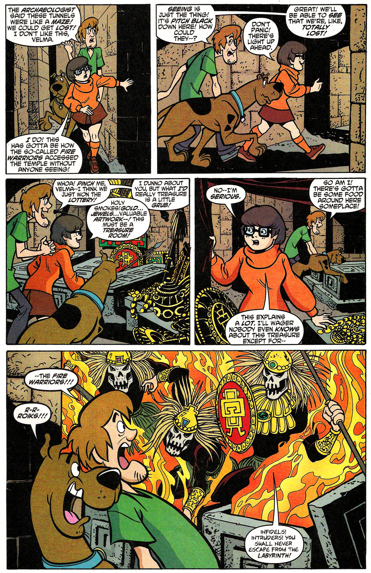 Read online Scooby-Doo (1997) comic -  Issue #105 - 25