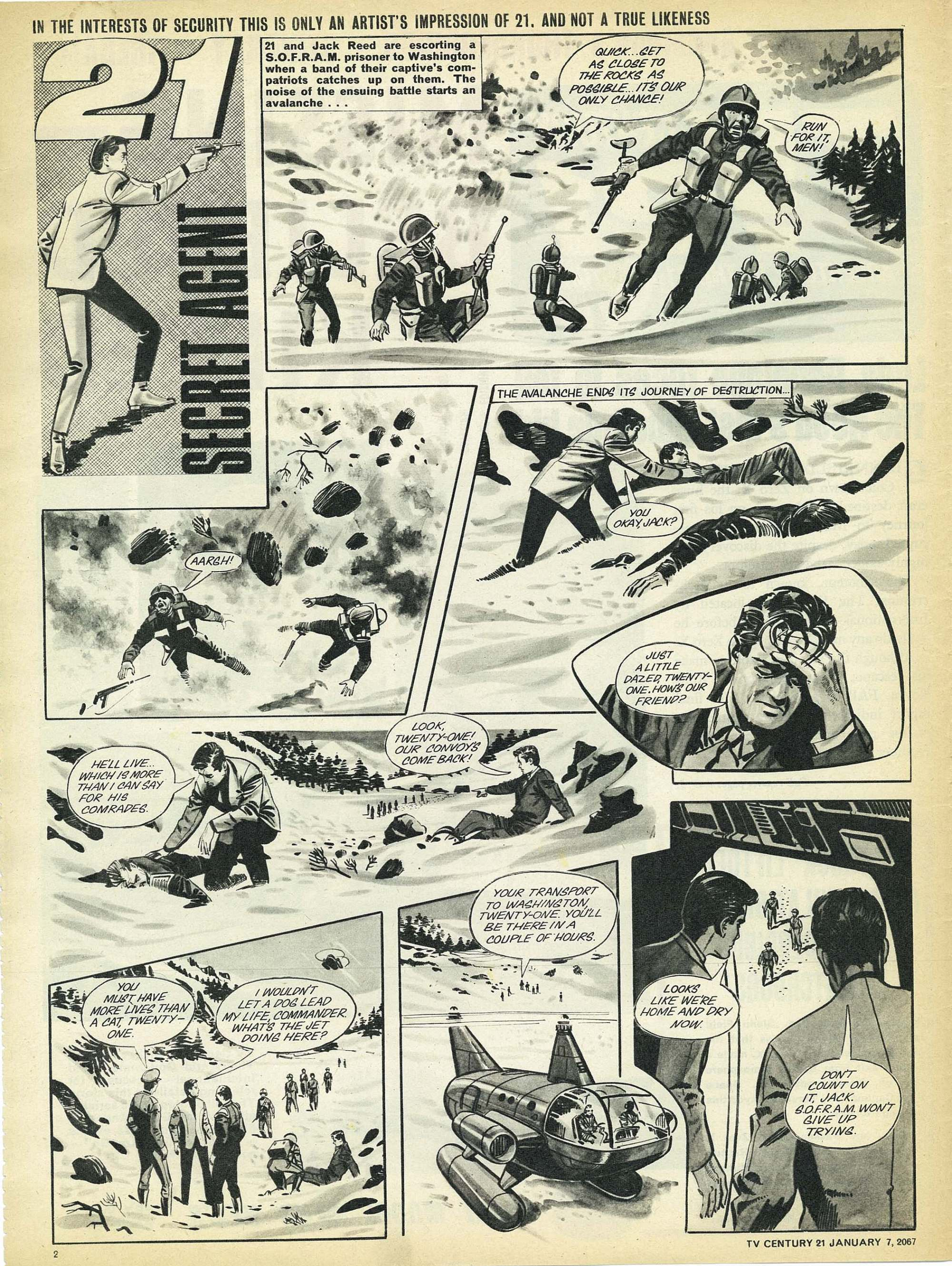 Read online TV Century 21 (TV 21) comic -  Issue #103 - 2