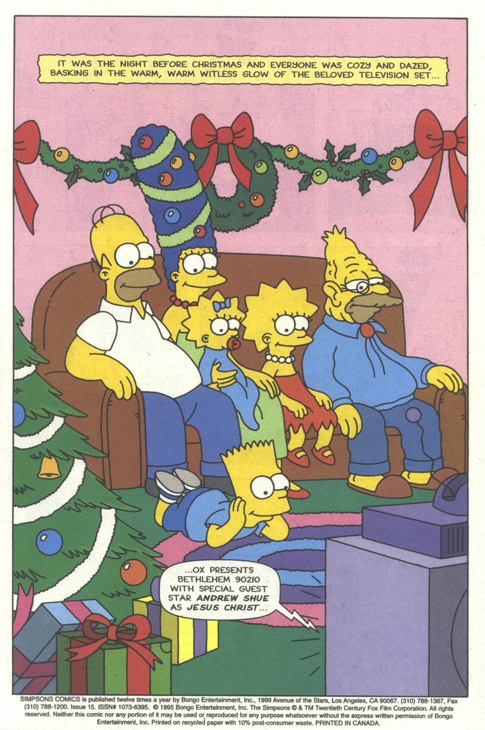 Read online Simpsons Comics comic -  Issue #15 - 2