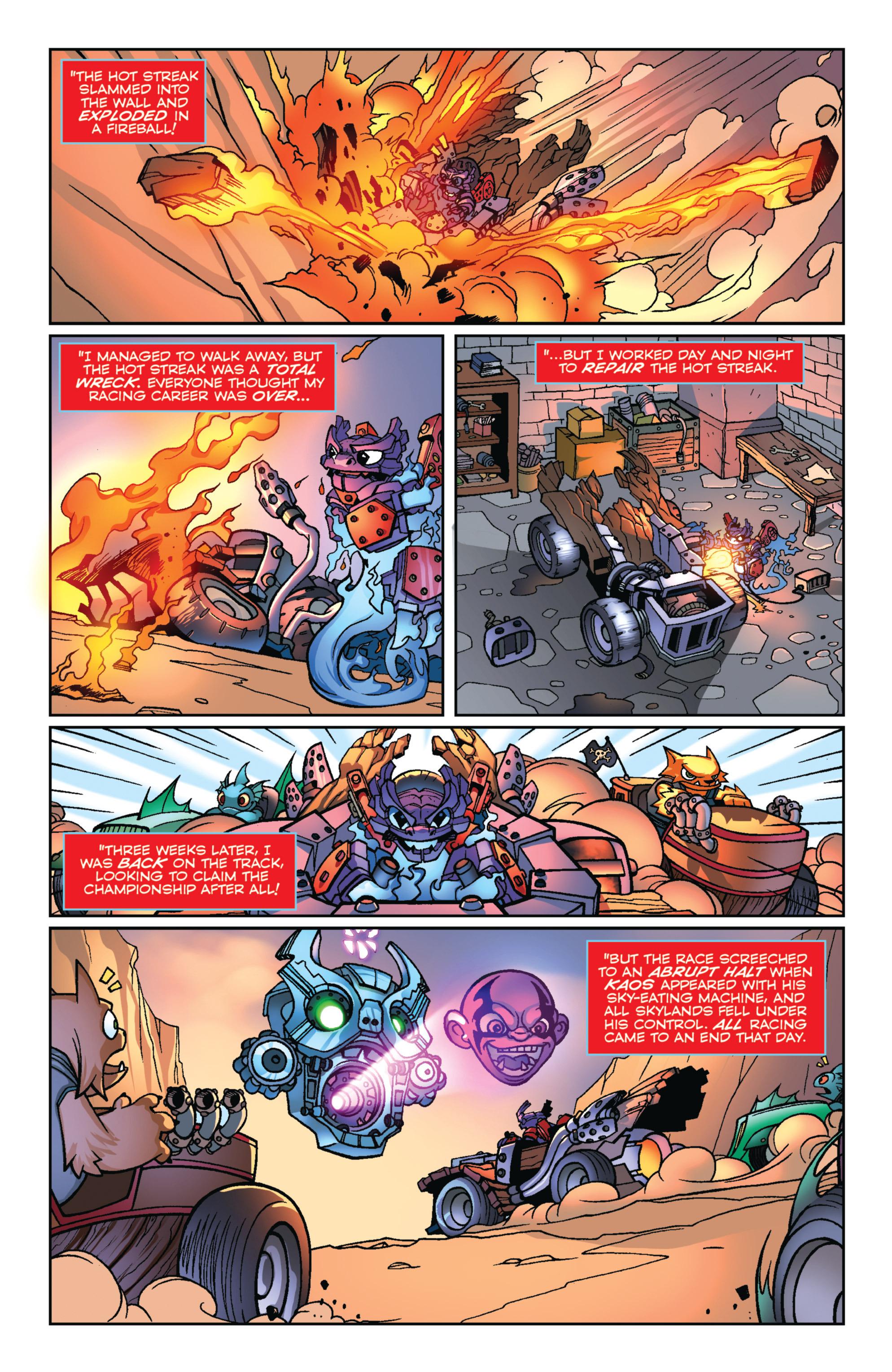 Read online Skylanders Superchargers comic -  Issue #1 - 22
