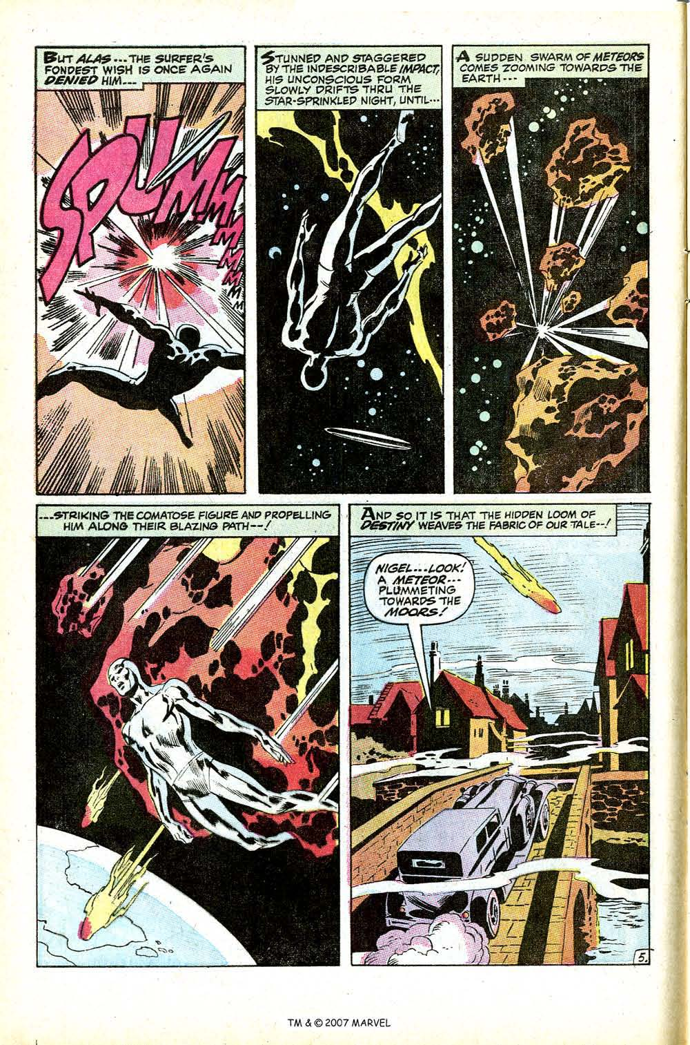 Read online Silver Surfer (1968) comic -  Issue #12 - 8