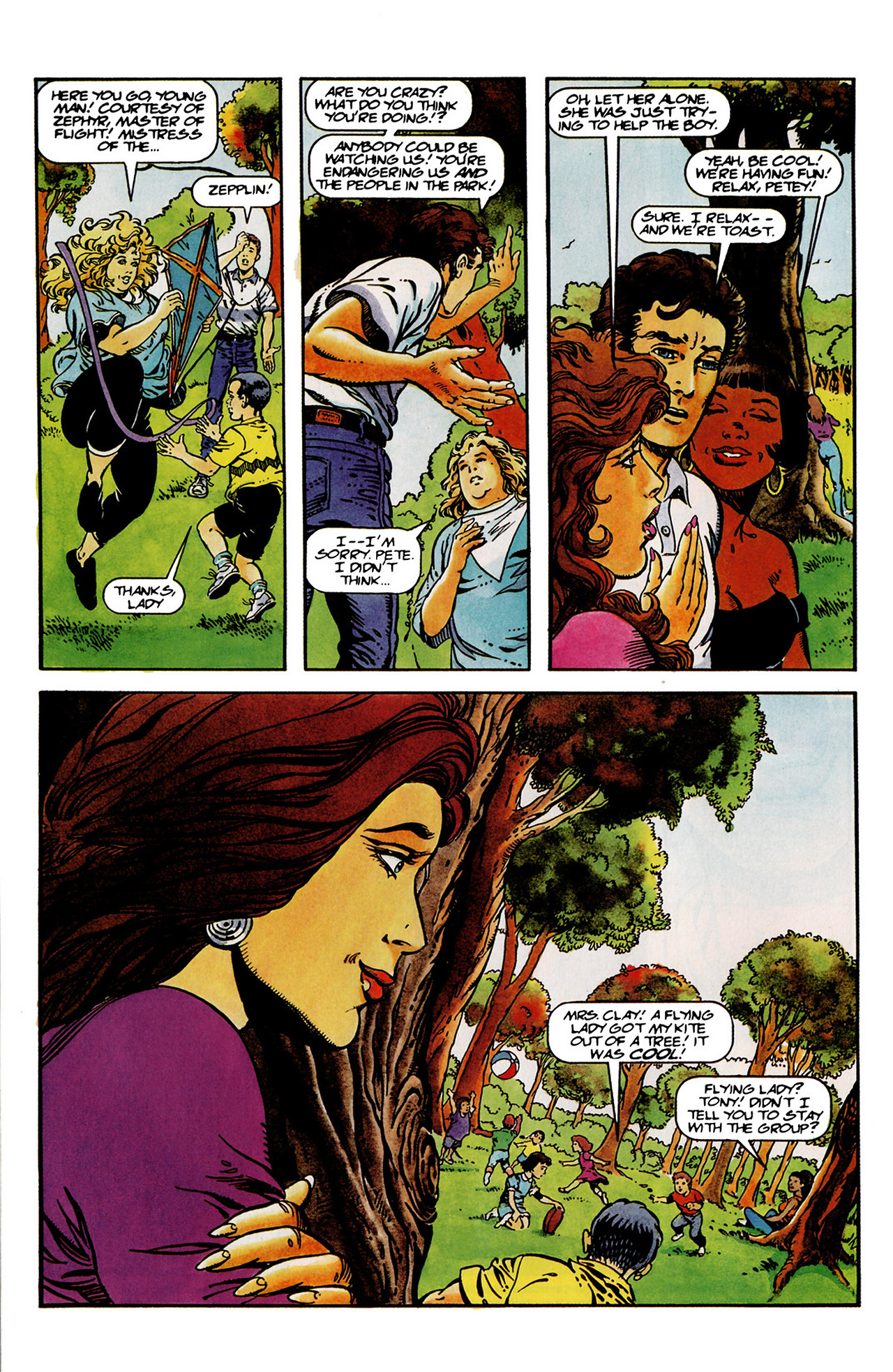 Read online Harbinger (1992) comic -  Issue #14 - 5