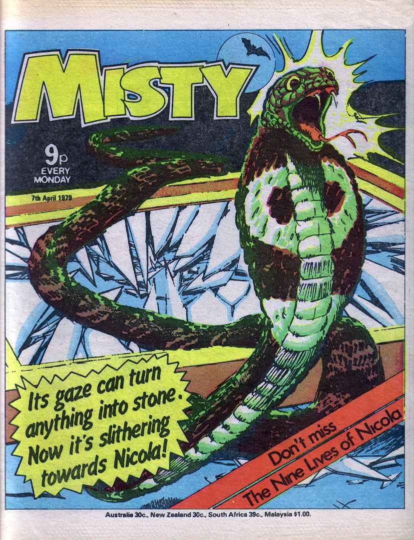 Read online Misty comic -  Issue #61 - 1