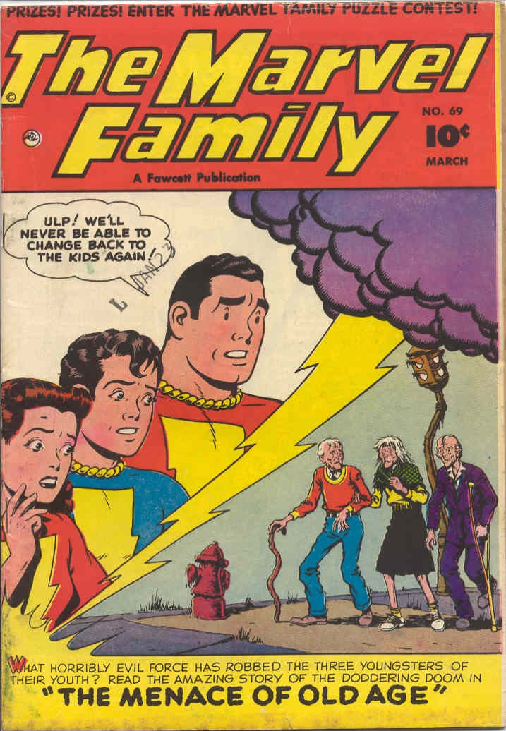 The Marvel Family 69 Page 1