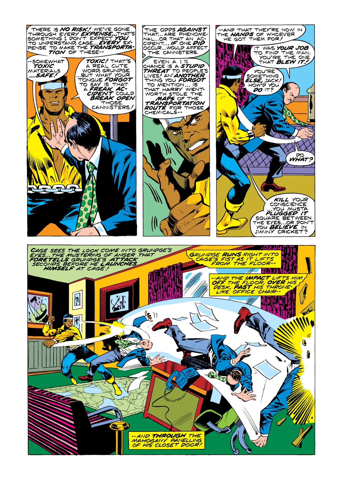Read online Marvel Masterworks: Luke Cage, Power Man comic -  Issue # TPB 2 (Part 3) - 35