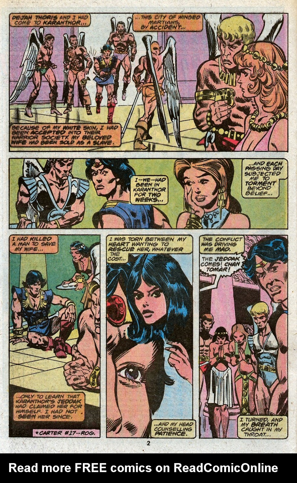 John Carter Warlord of Mars issue 19 - Page 4