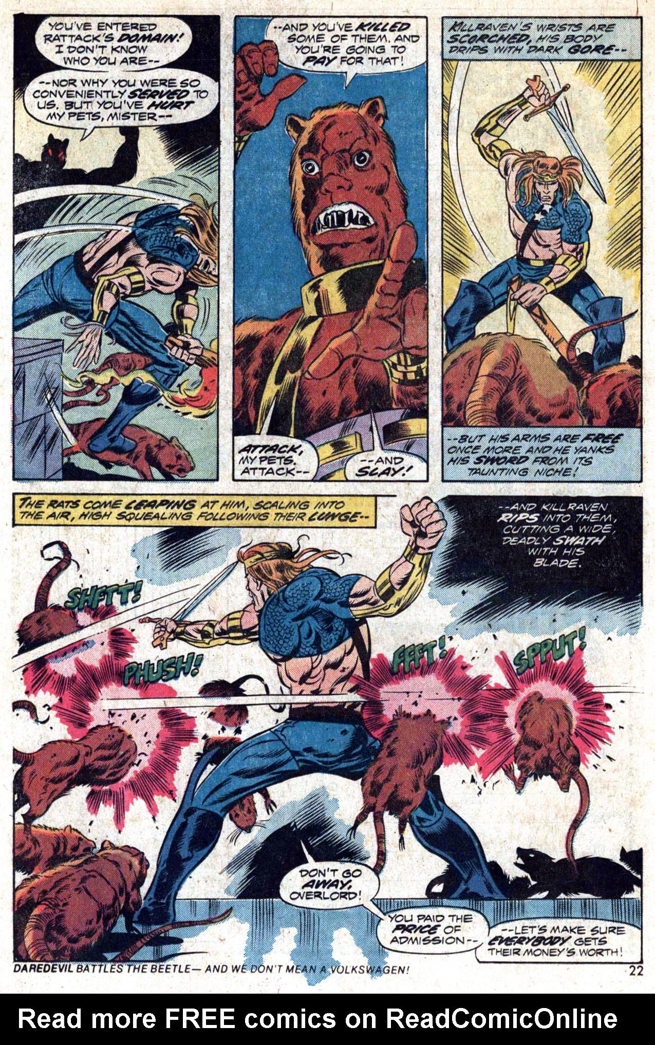 Read online Amazing Adventures (1970) comic -  Issue #23 - 23