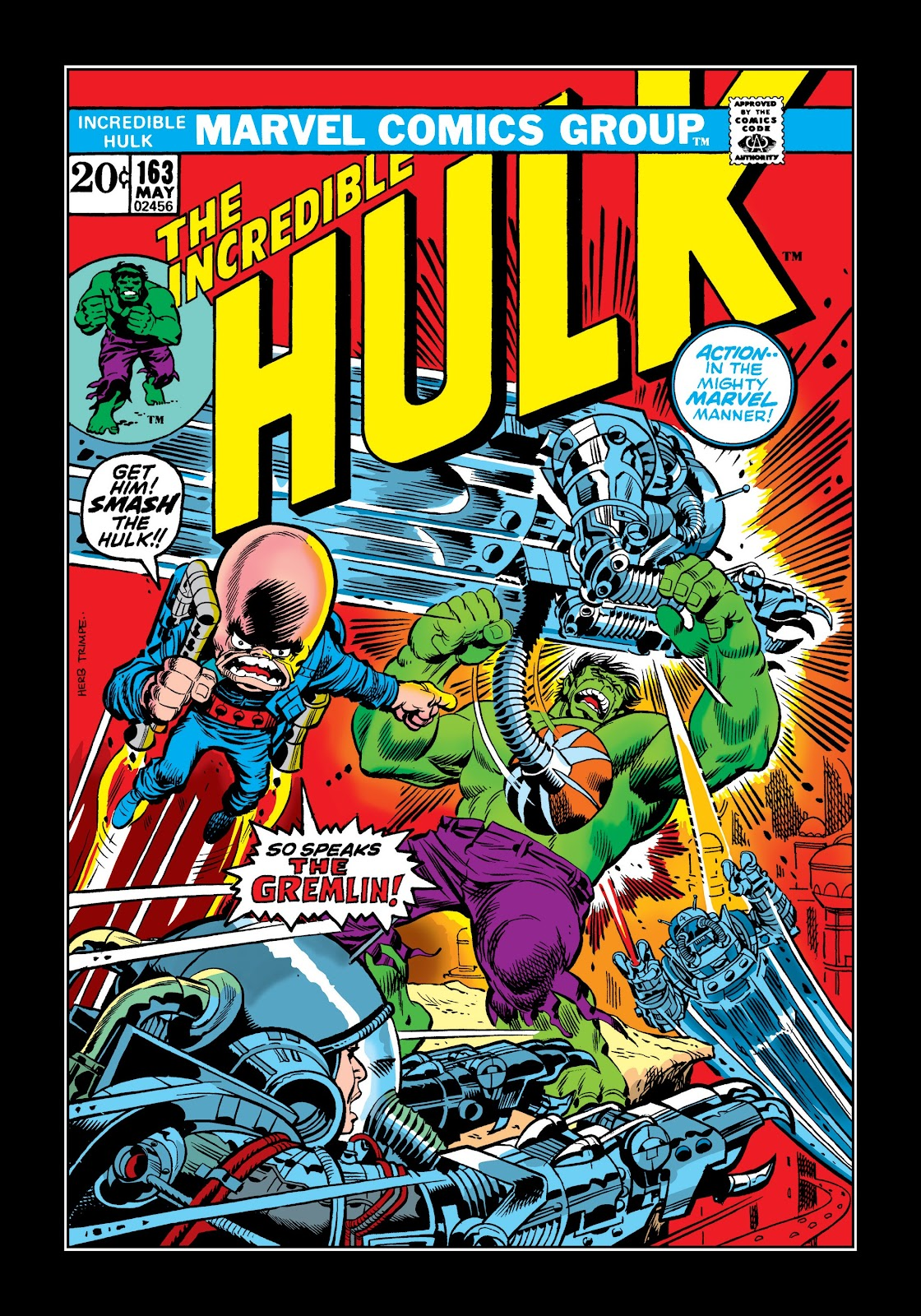 Read online Marvel Masterworks: The Incredible Hulk comic -  Issue # TPB 9 (Part 2) - 35