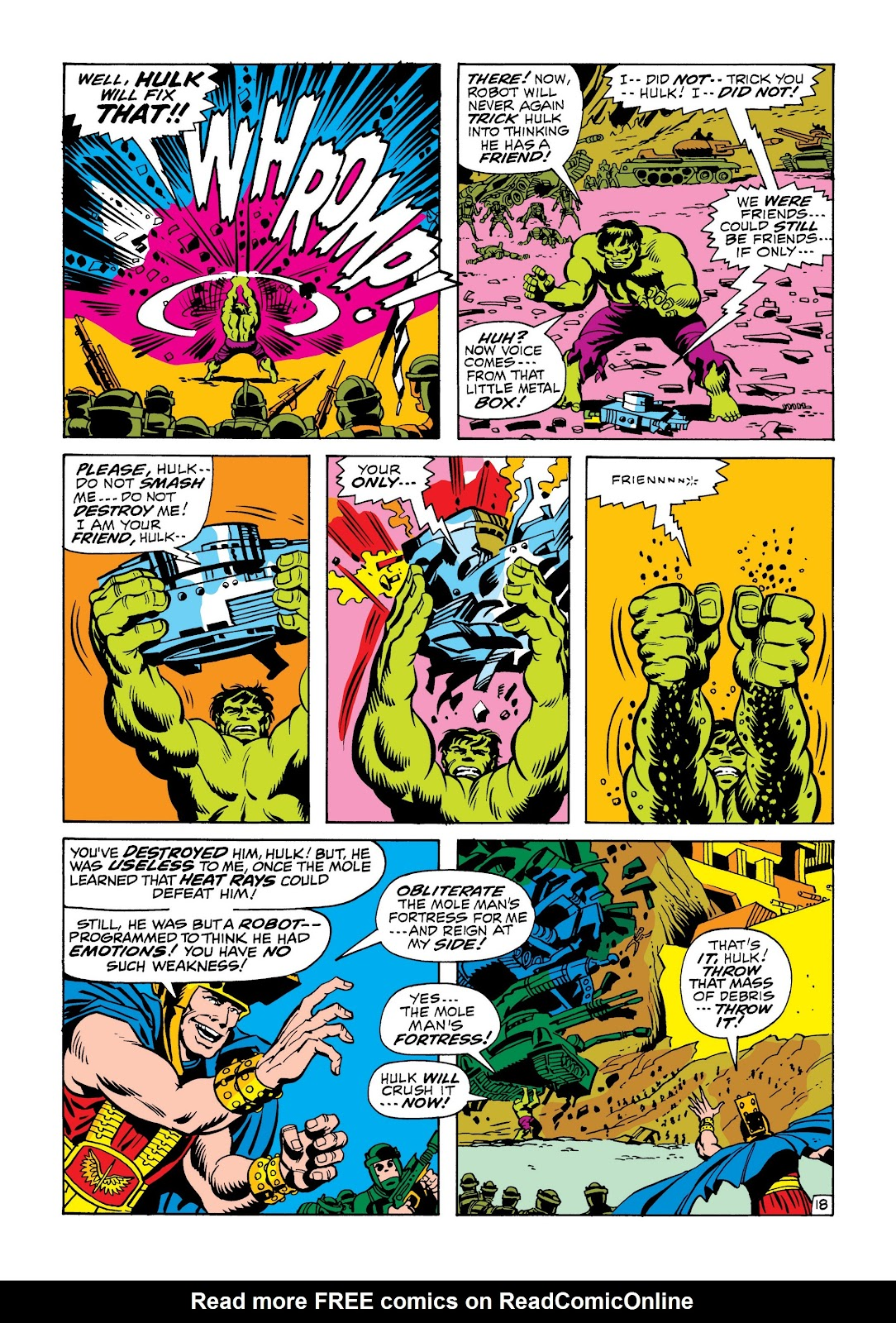 Read online Marvel Masterworks: The Incredible Hulk comic -  Issue # TPB 6 (Part 2) - 31