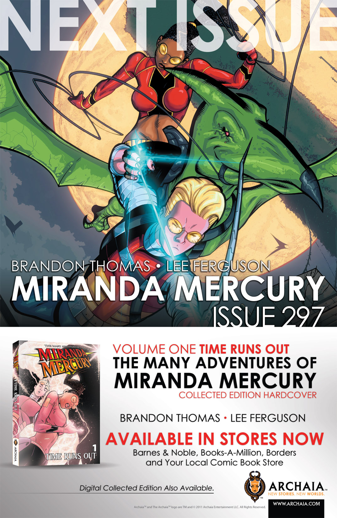Read online The Many Adventures of Miranda Mercury: Time Runs Out comic -  Issue # TPB - 66